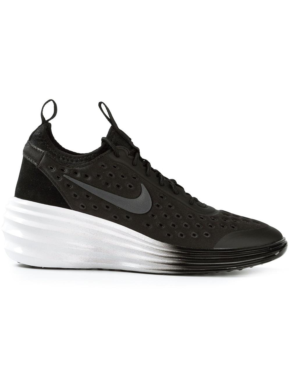 d78bc1f62627 Lyst - Nike Lunarelite Sky Hi Trainers in Black