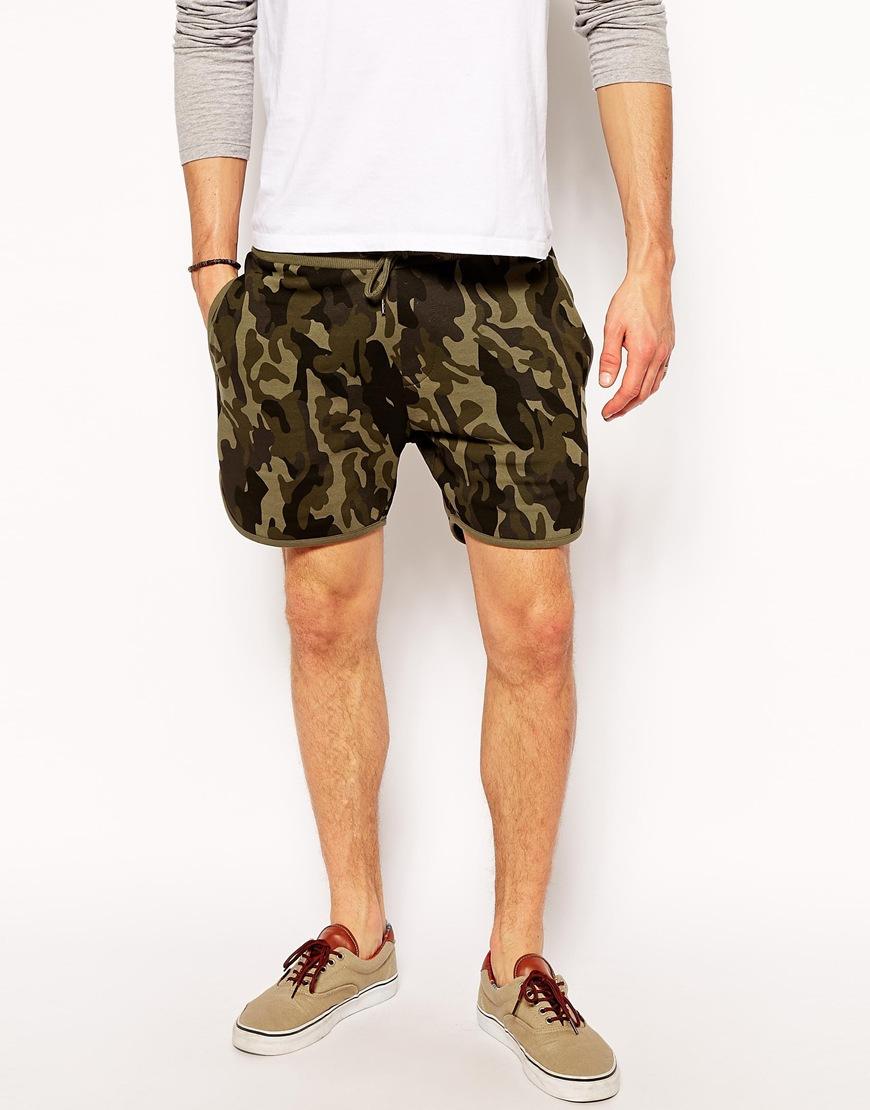 jersey camo shorts