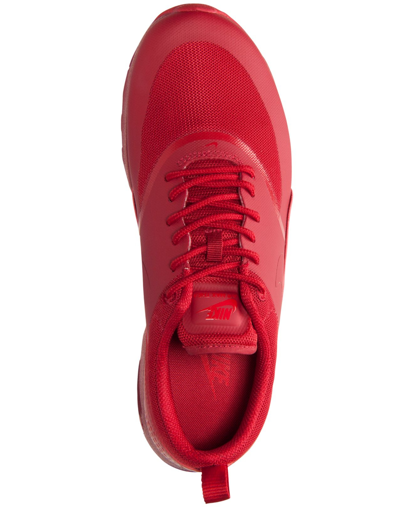 womens nike air max thea stampa Großhandel Nike Red Women's Air Max Thea Running Sneakers From ...