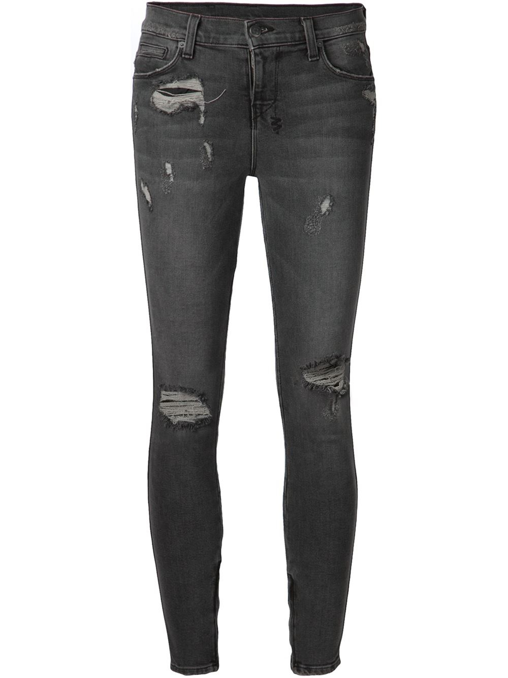 Distressed jeans are totally in. From slimming skinnies with holes at the knee to frayed boyfriends that fit just right, Old Navy has the distressed women's jeans .