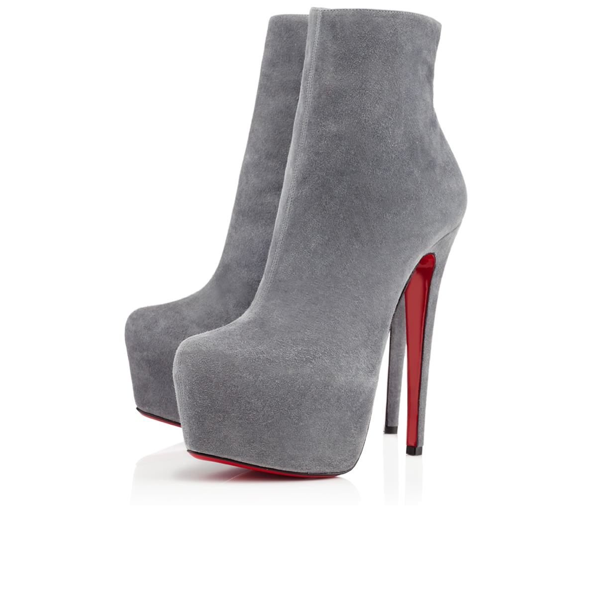 christian louboutin pointed-toe ankle boots