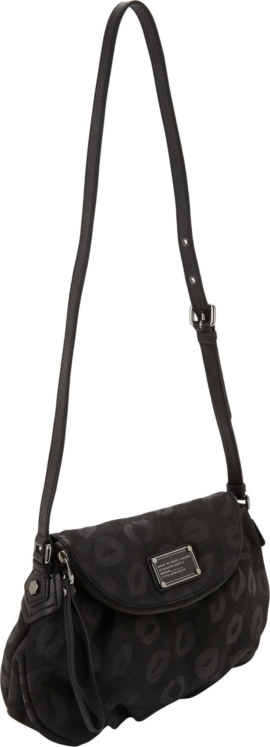 b08155cfa793 Lyst - Marc By Marc Jacobs Les Zeppelin Flap Crossbody in Black
