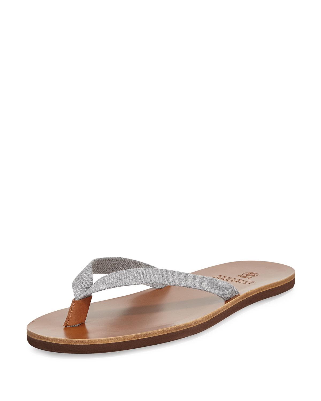 Leather sandals Brunello Cucinelli 3GThSUBcAJ