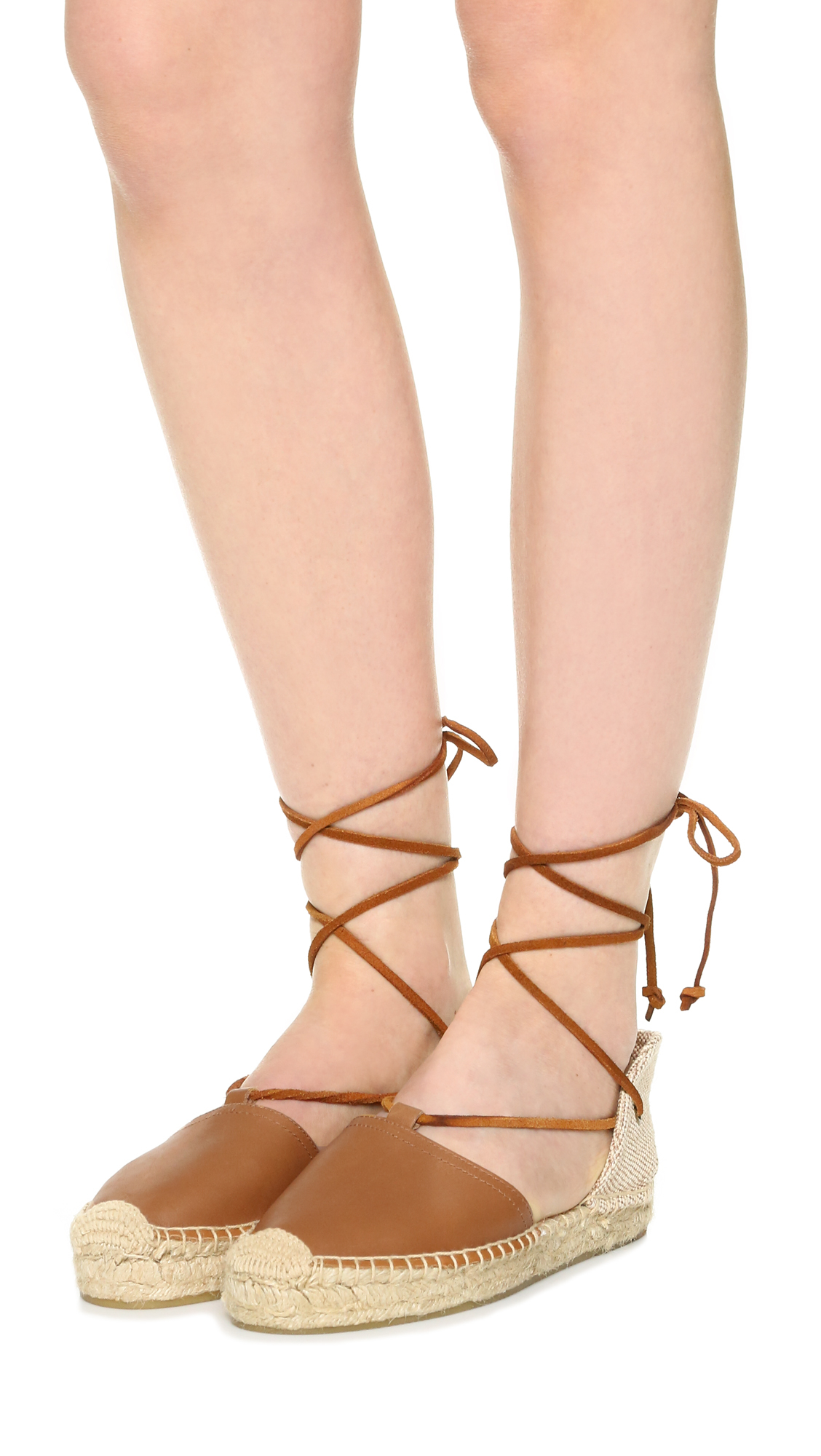 1ffb8fef331 Lyst - Soludos Platform Gladiator Sandals in Brown