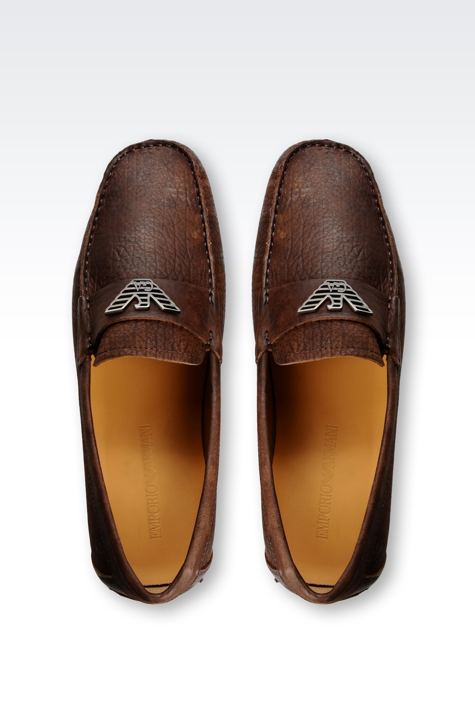 Purchase Cheap Price Low Cost For Sale FOOTWEAR - Loafers Emporio Armani kKQ00uB