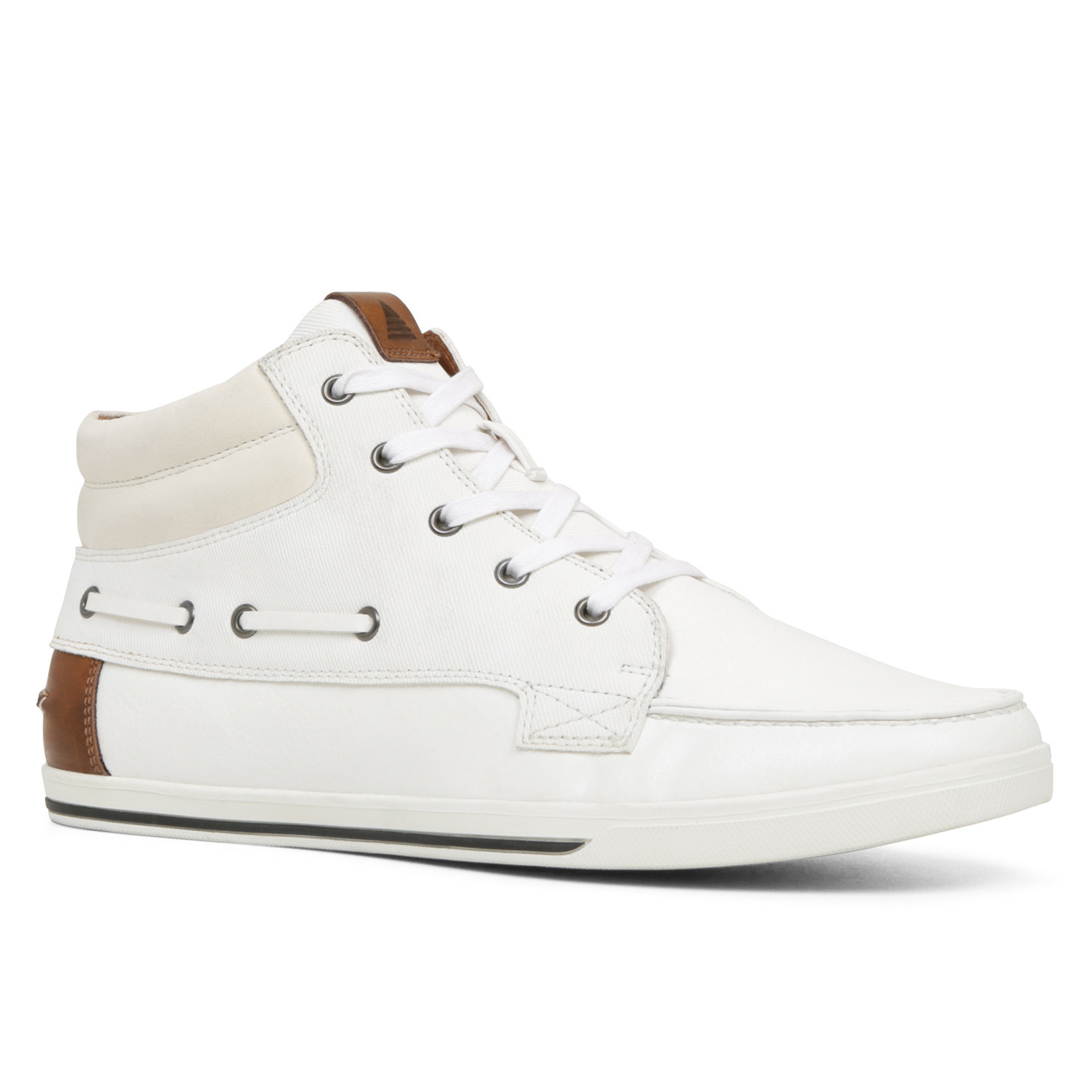 aldo ballerino in white for lyst