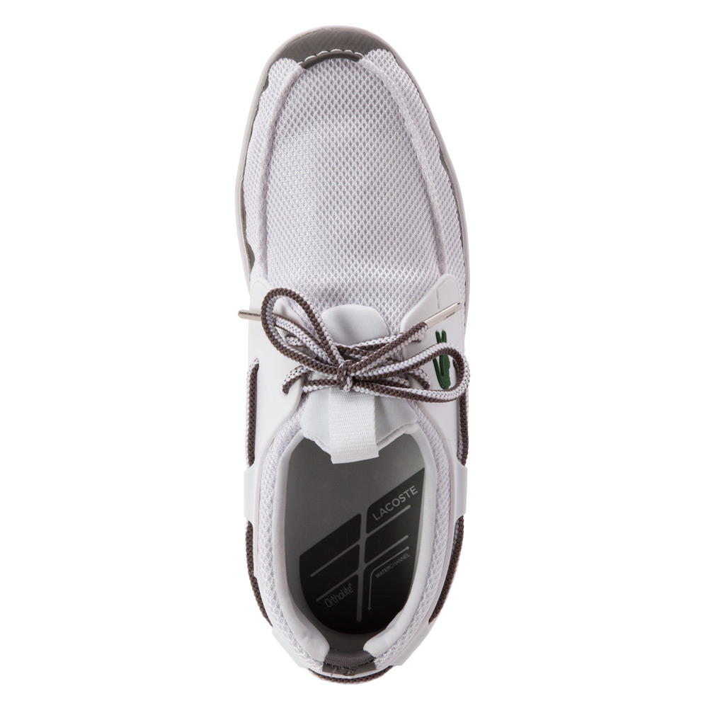 29b887cfa0224 Lyst - Lacoste L.andsailing Rei Boat Shoe in White for Men
