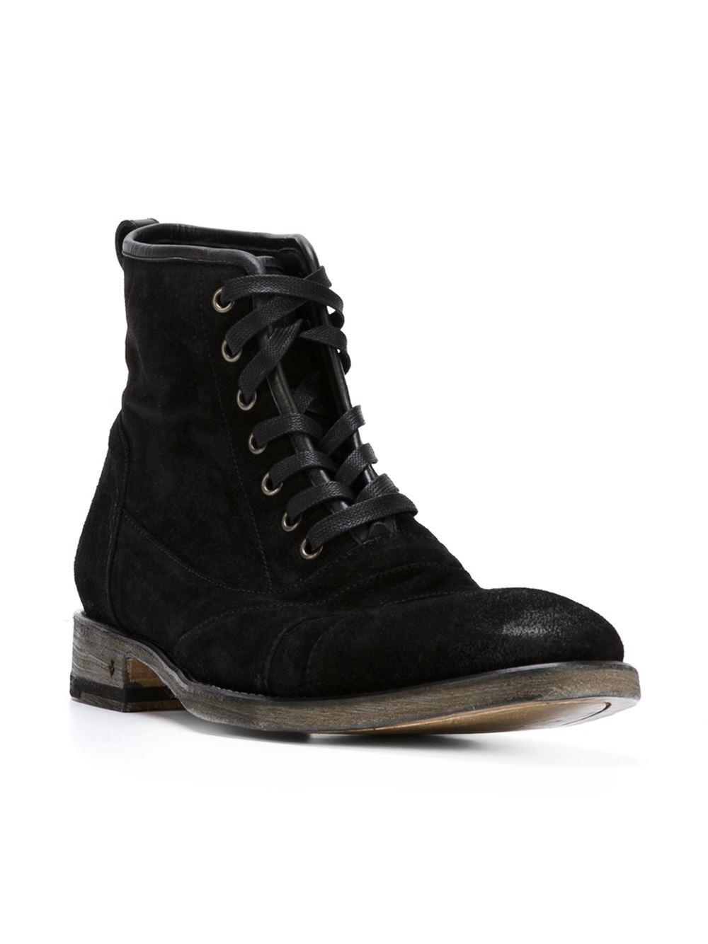 John varvatos Utility Boots in Black for Men | Lyst