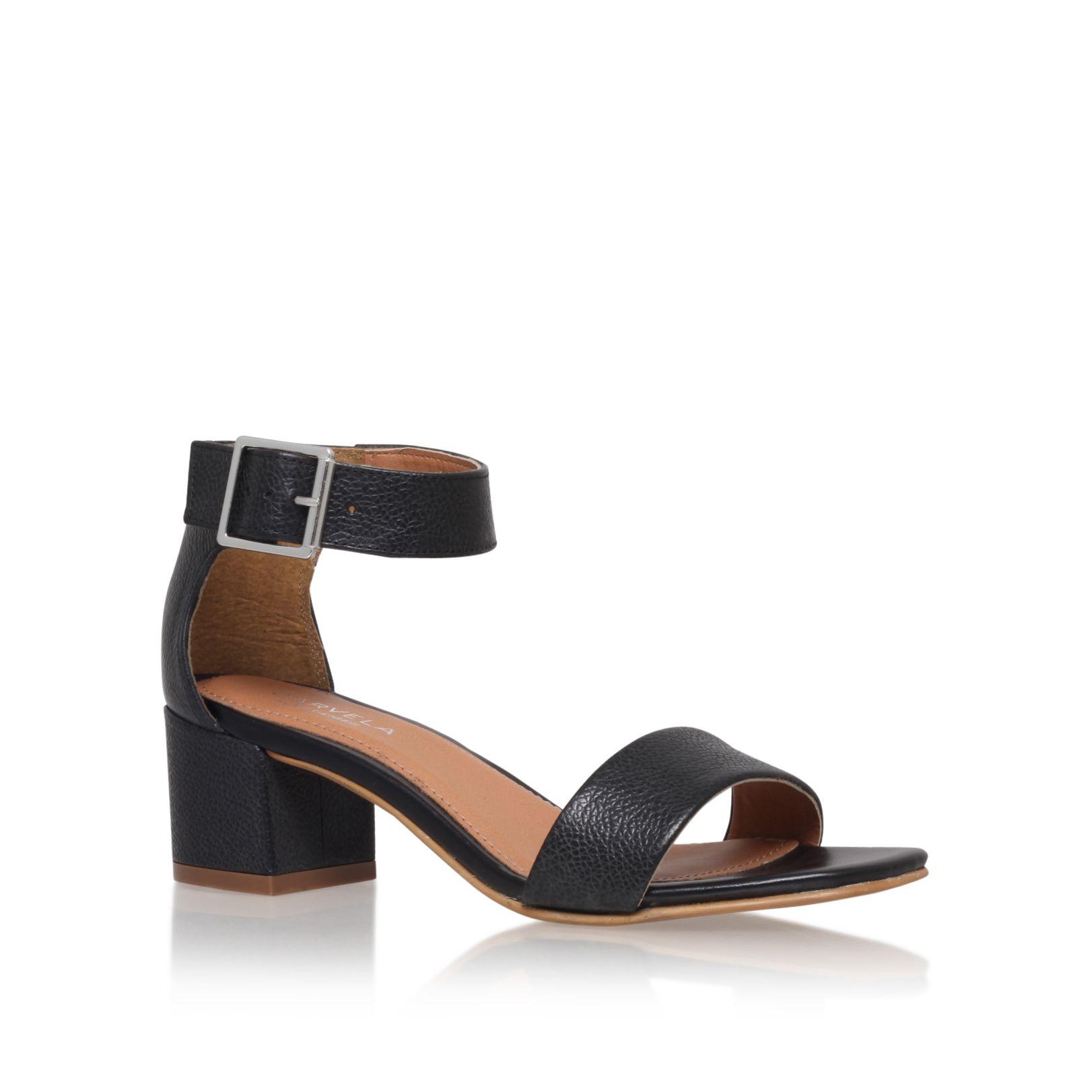 Kurt Geiger Black Wedge Shoes