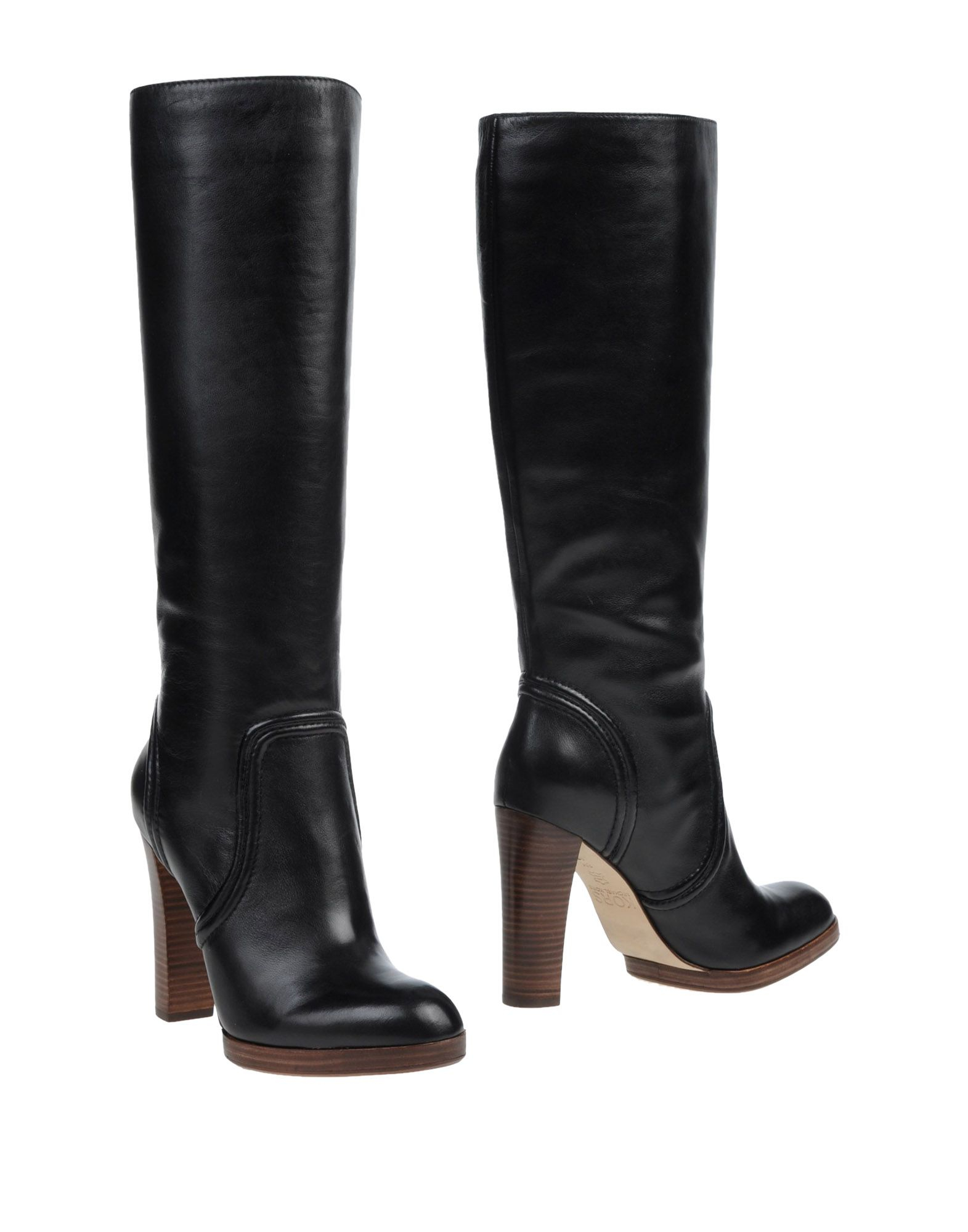 kors by michael kors boots in black lyst