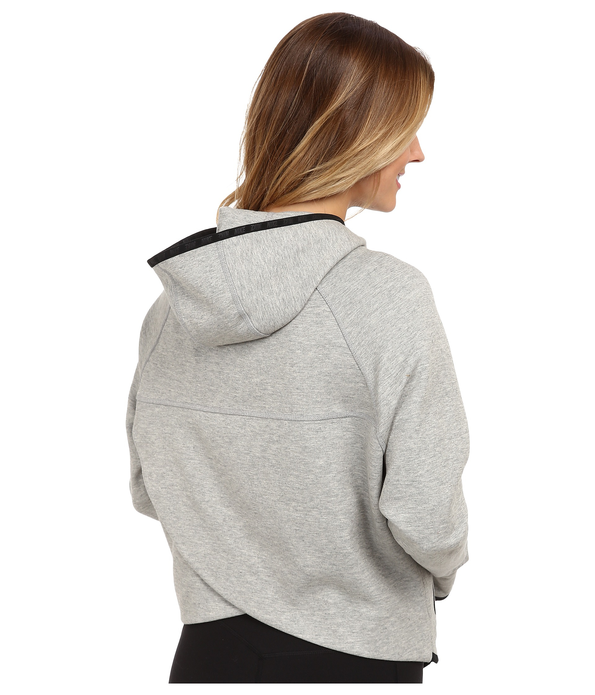8b45e11963a9 Lyst - Nike Tech Fleece Butterfly Fz Hoodie in Gray