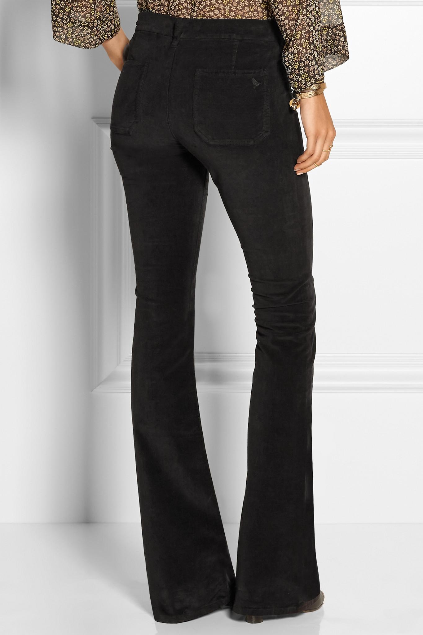 Black Skinny Flare Jeans Ye Jean