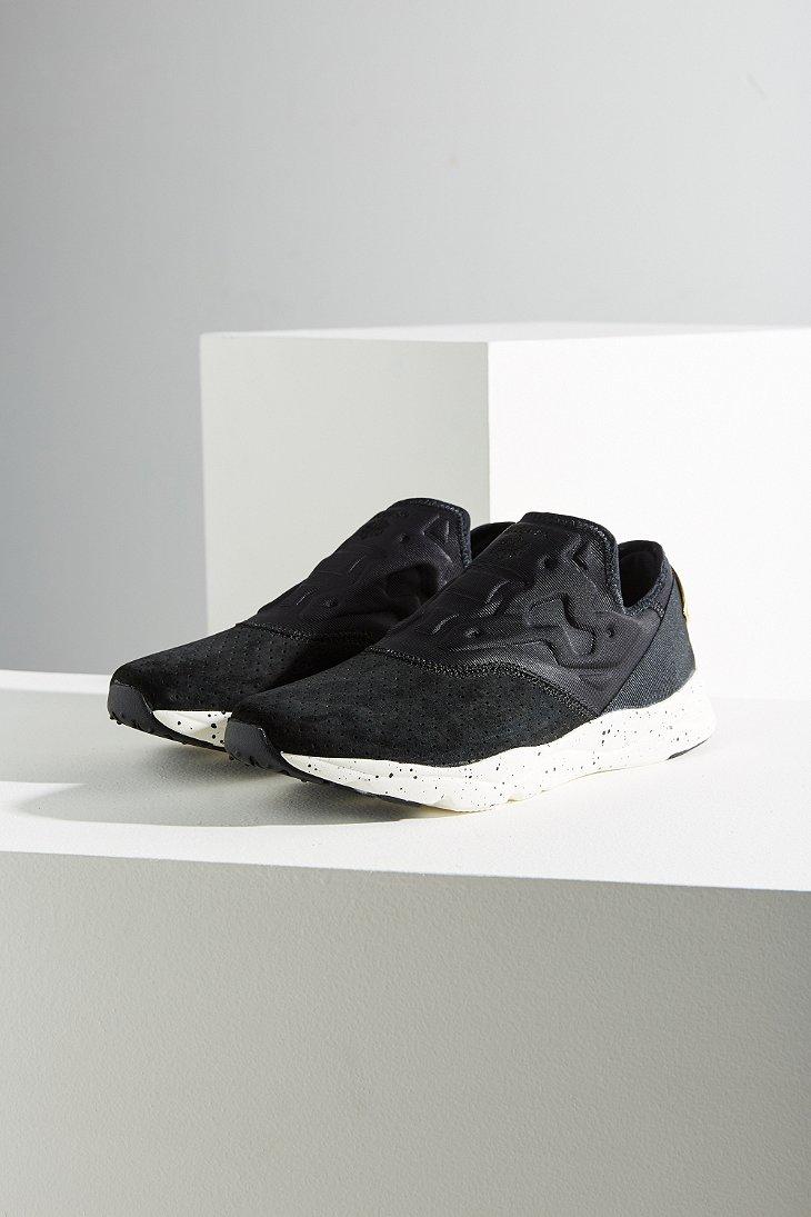 c3d571df4331 Lyst - Reebok Furylite Slip-on Lx Sneaker in Black