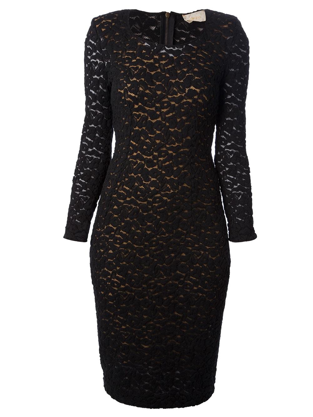 Forte Forte Lace Dress In Black Lyst