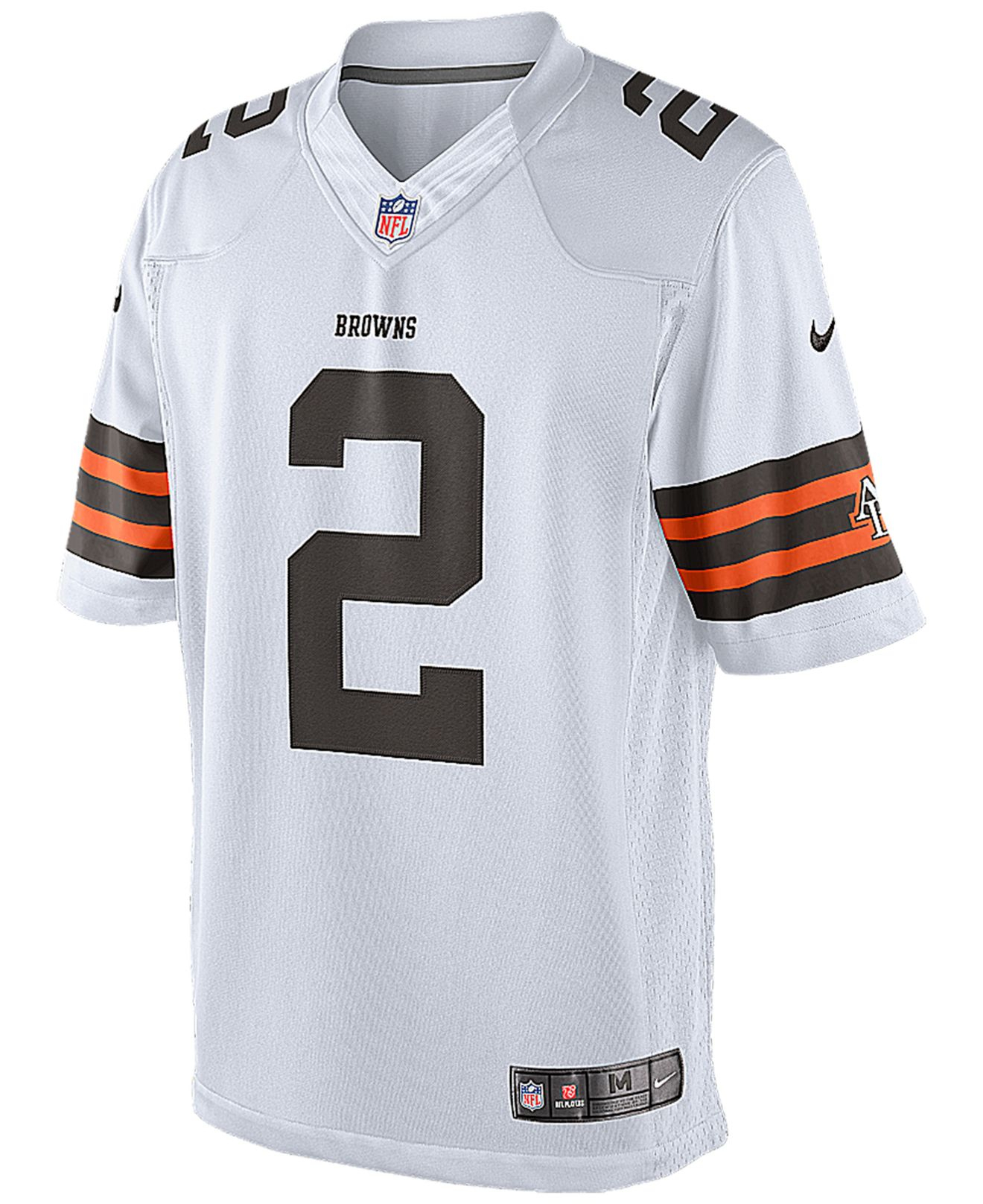 141ff108b Lyst - Nike Men S Johnny Manziel Cleveland Browns Limited Jersey in ...