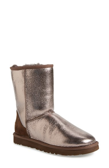 metallic gold ugg boots