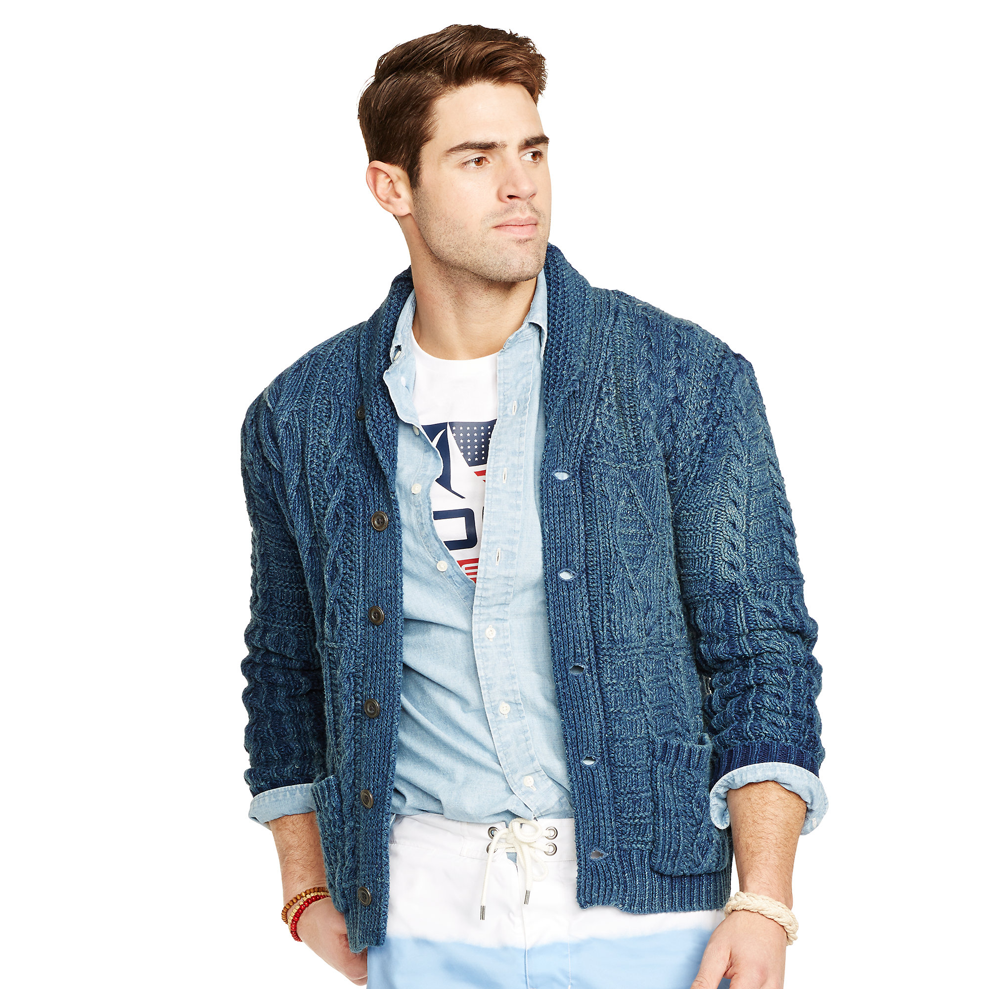 6190e10c5 sweden ralph lauren sweater shawl mens sweaters 00fef 31574