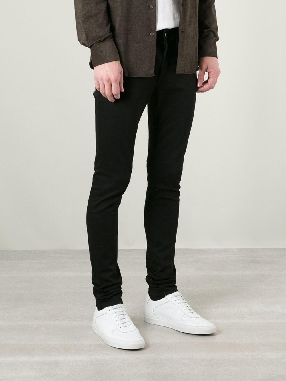 Lyst - Acne Studios  Thin  Skinny Jeans in Black for Men 6cde4247483