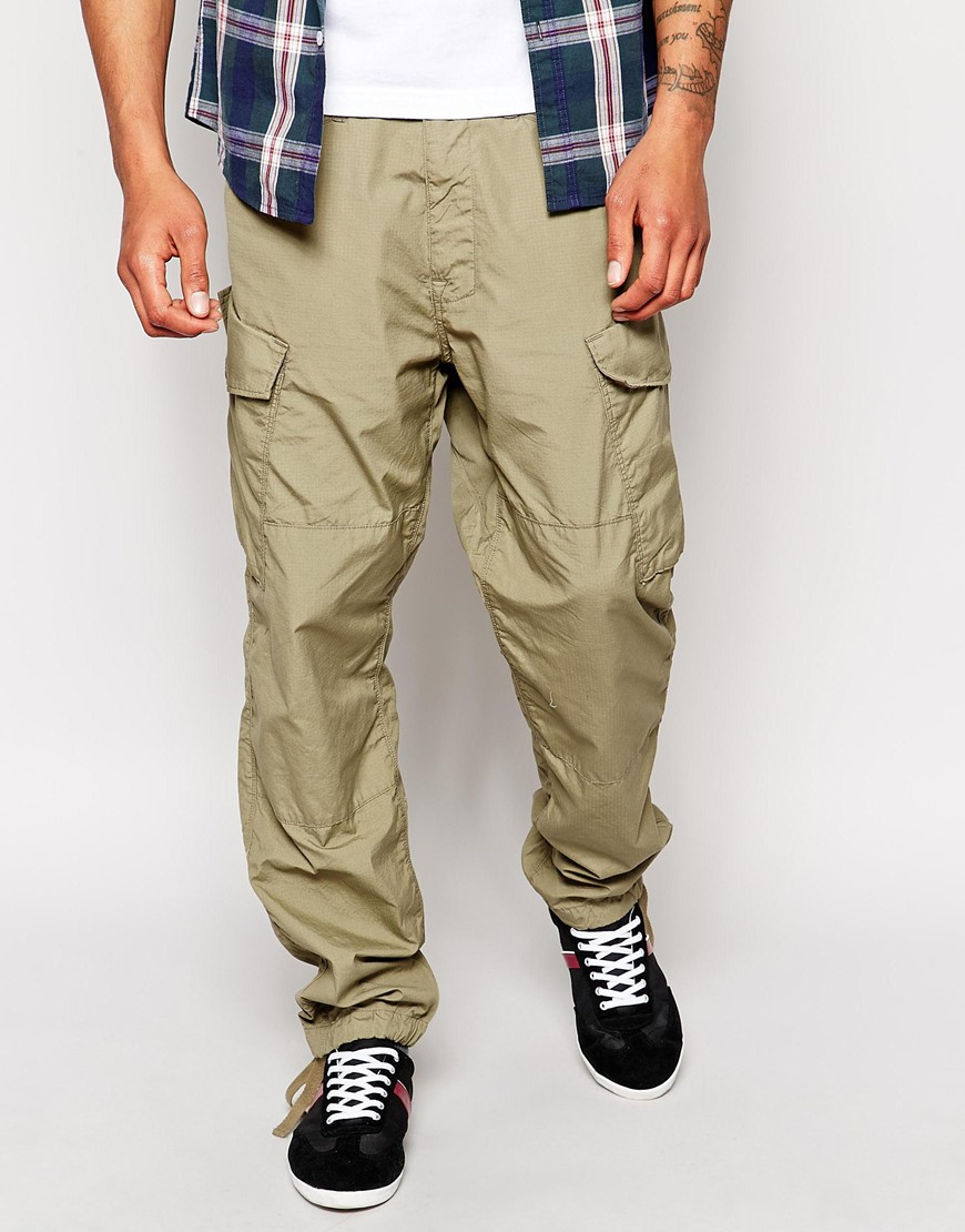 G-star raw G Star Cargo Trousers Rovic Tapered Fit Ripstop in ...