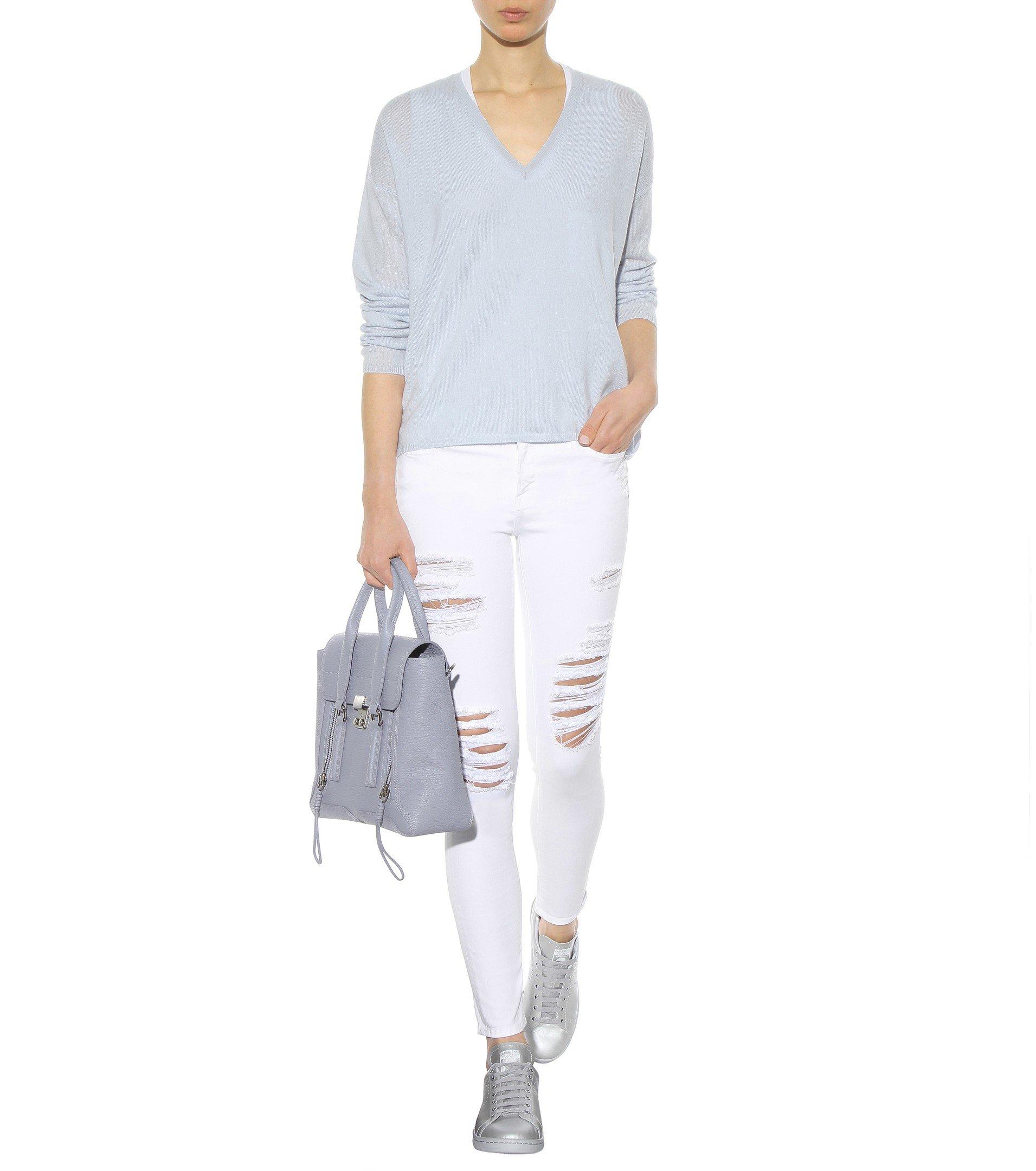 Jardin des orangers Cashmere Sweater in Blue | Lyst