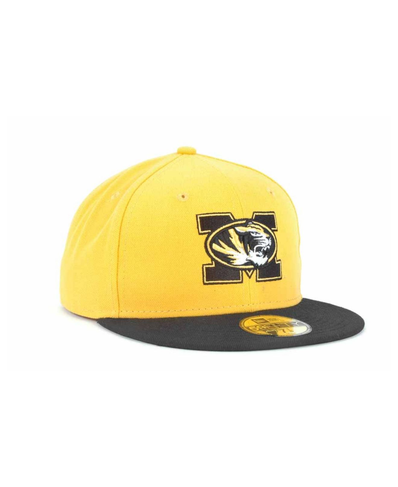 huge selection of 65f32 5bcdc Lyst - KTZ Missouri Tigers 2 Tone 59fifty Cap in Black for Men