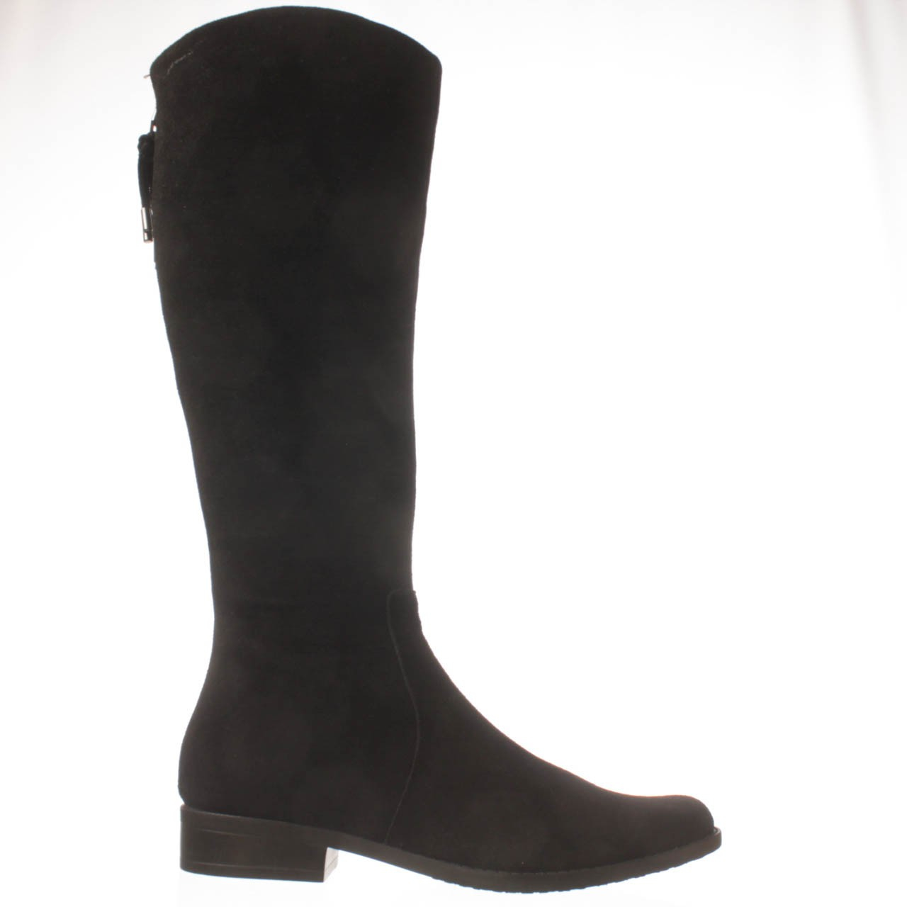 calvin klein taylie wide calf knee high boot in black lyst