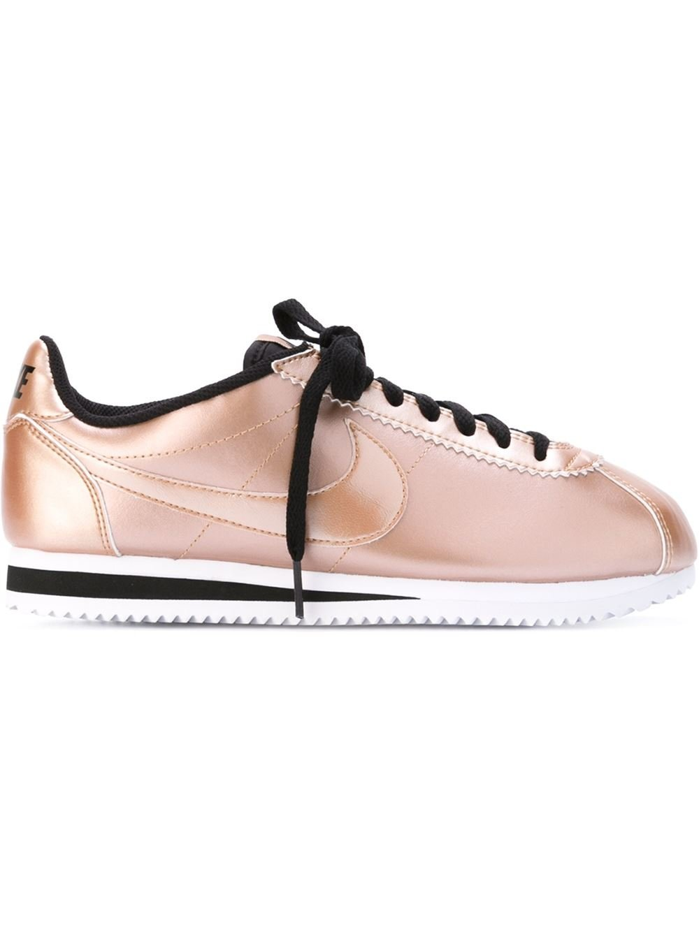Purple And Gold Nike Cortez