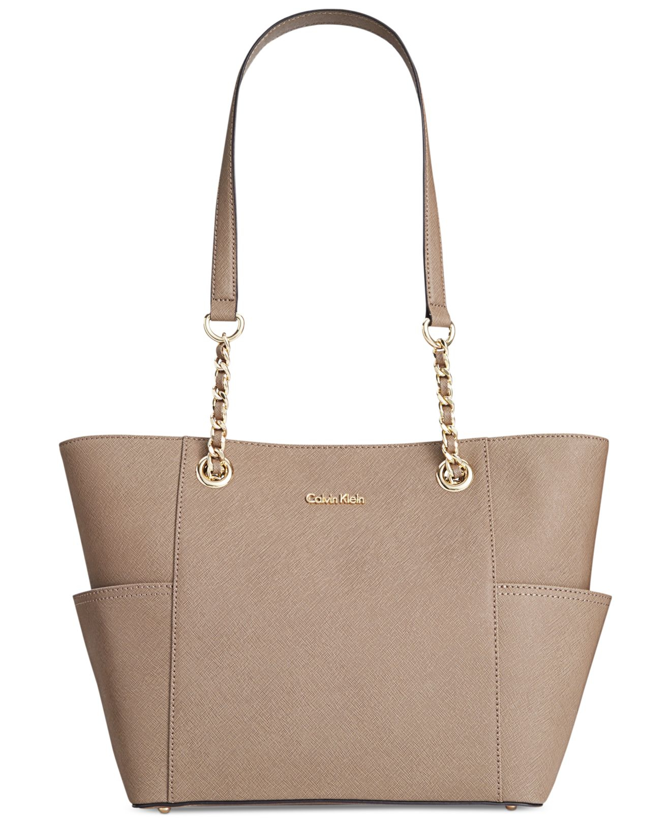 Taupe Shoes With Brown Purse