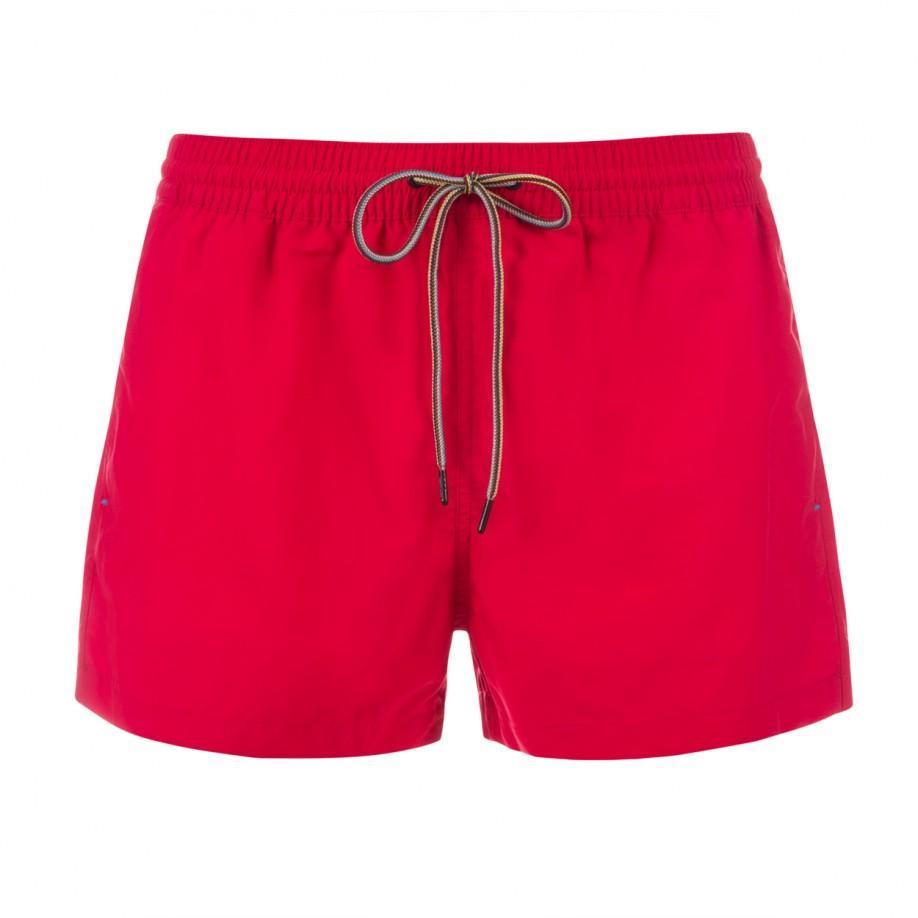 Paul smith Men's Red 'sport' Swim Shorts in Pink for Men ...