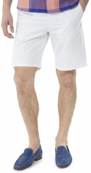 White Chino Mens Prep Chino Shorts in White