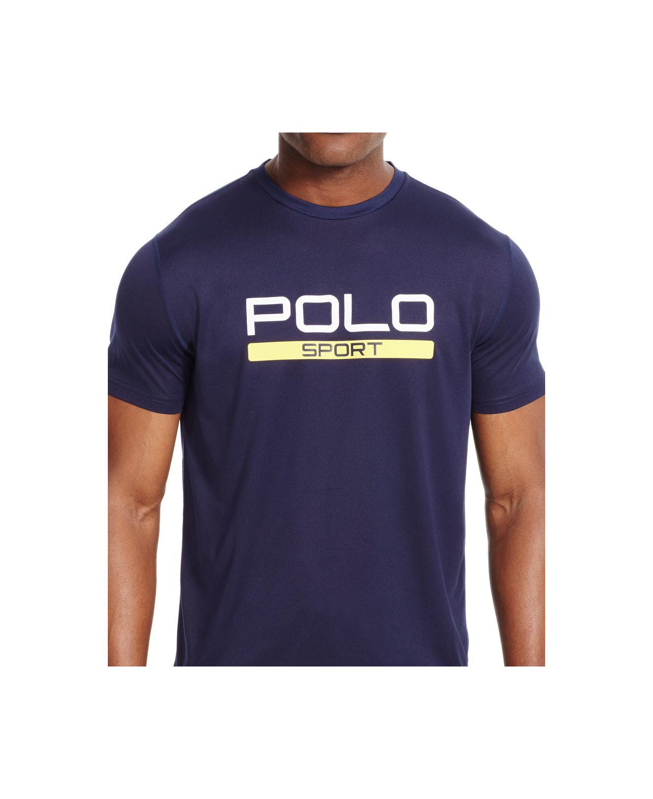Polo ralph lauren polo sport men 39 s performance jersey t for Ralph lauren polo jersey shirt