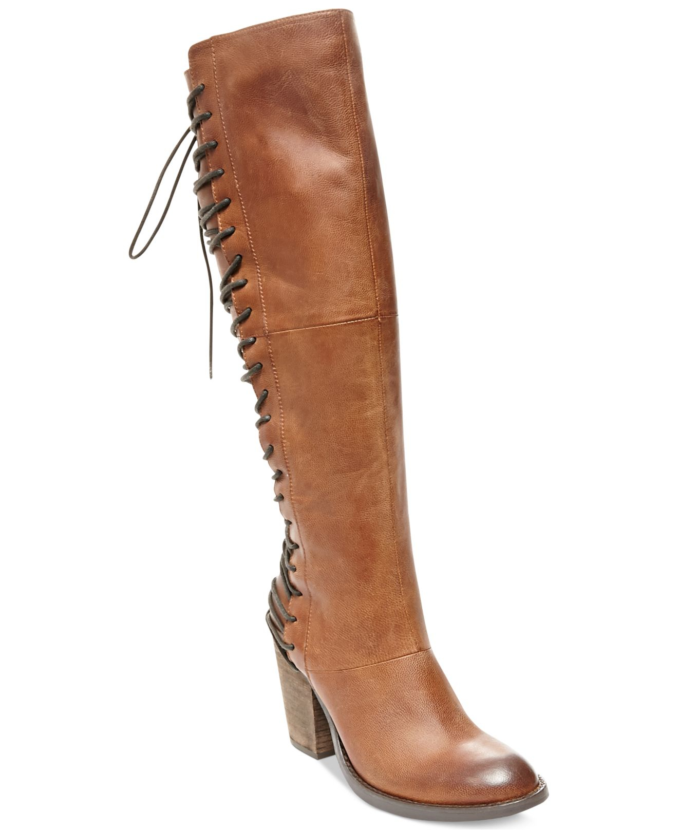 bfb96b718b2 Lyst - Steve Madden Rickter Lace-up Boots in Brown
