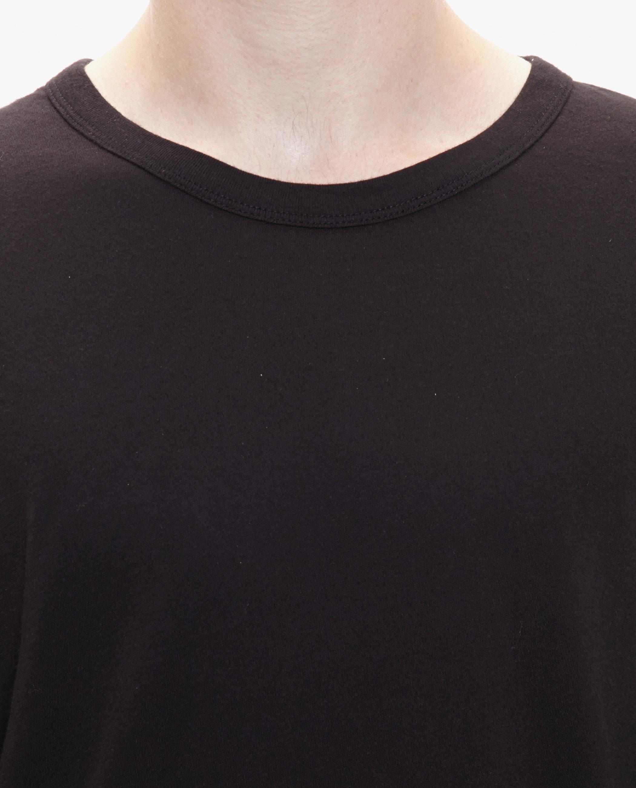 T by alexander wang Longsleeve Cotton Top in Black for Men | Lyst
