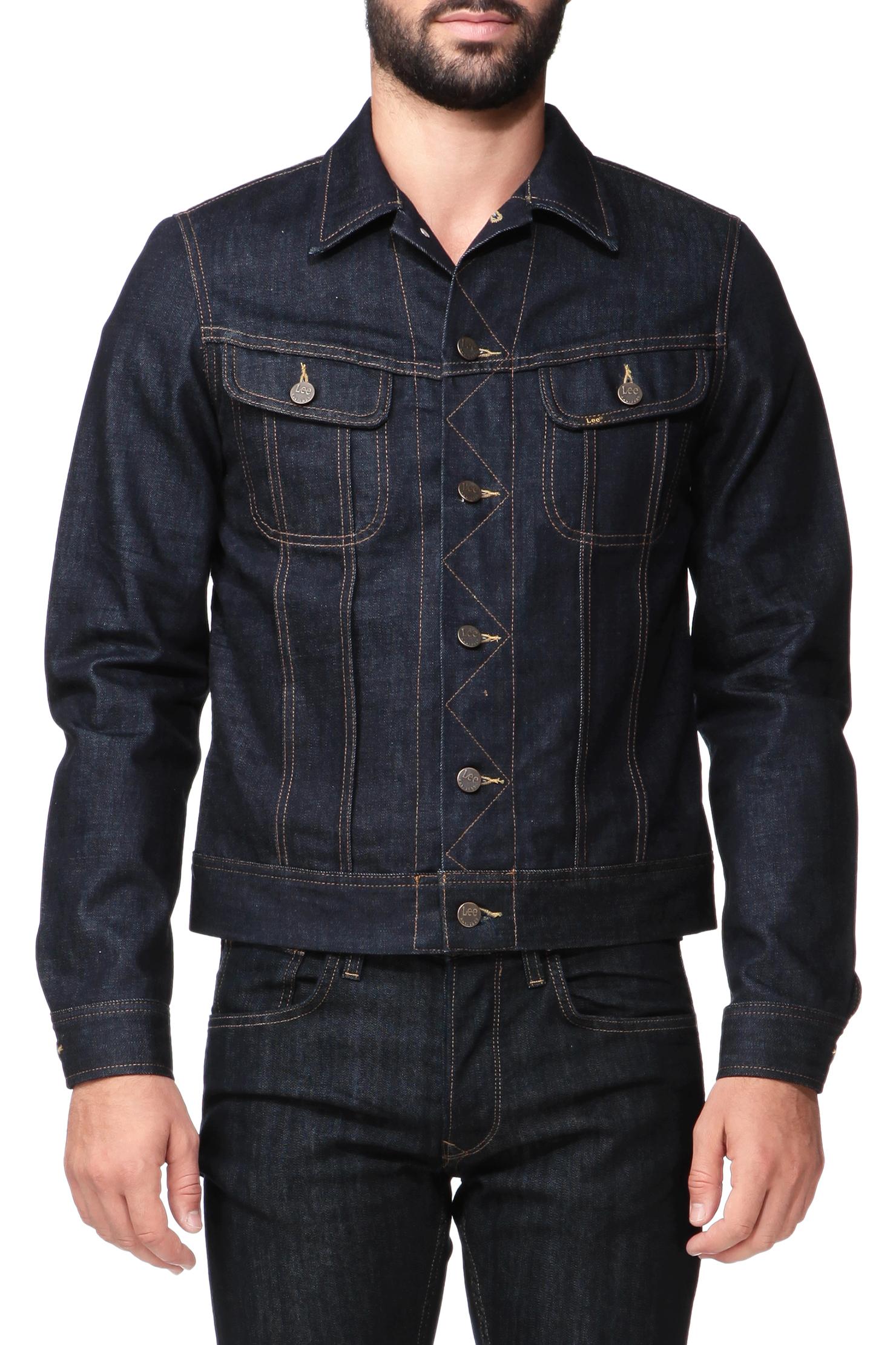 Lee jeans Jacket in Blue for Men | Lyst