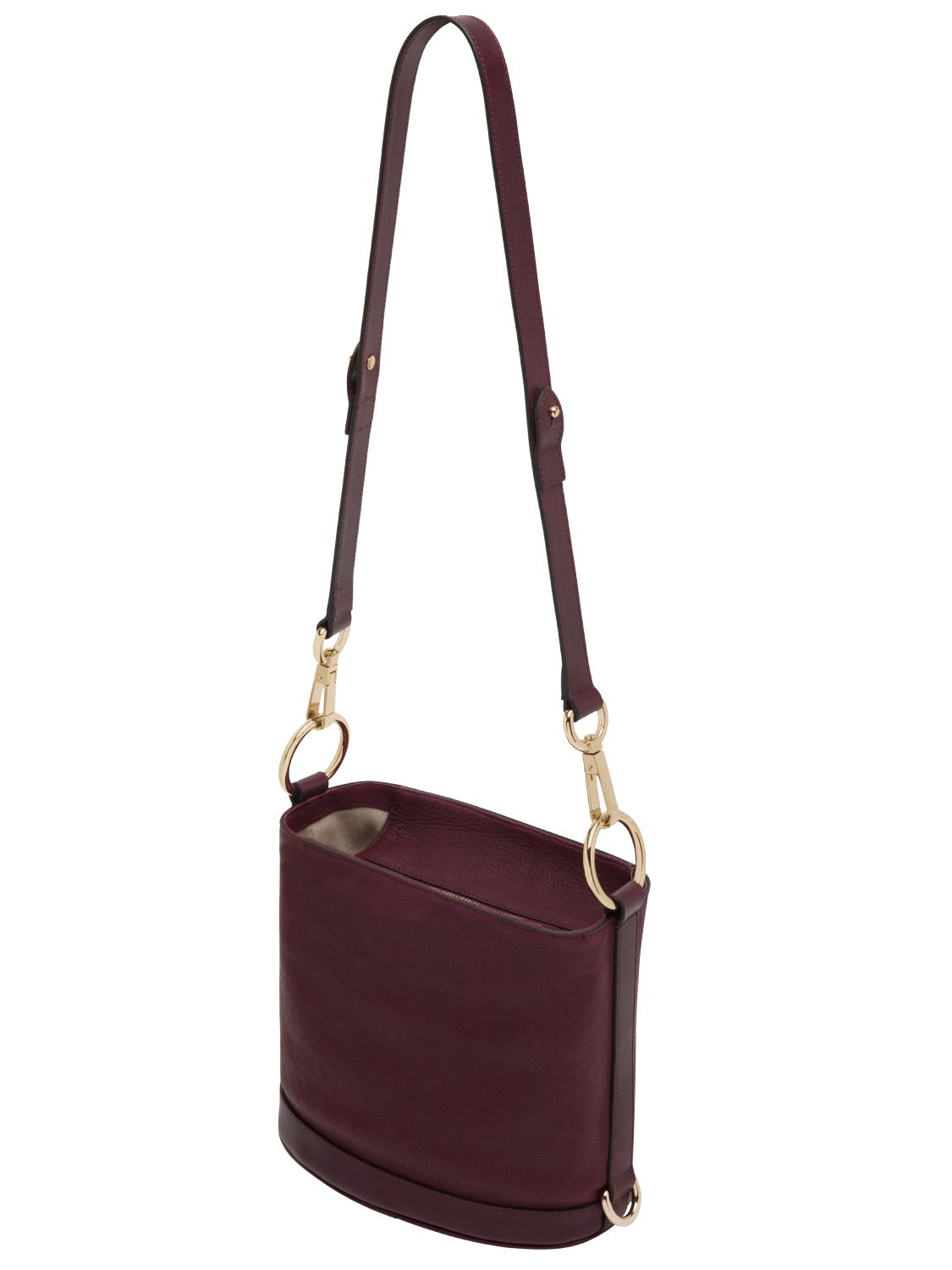 0b2be7107e Mulberry Small Jamie Washed Leather Bucket Bag in Purple - Lyst