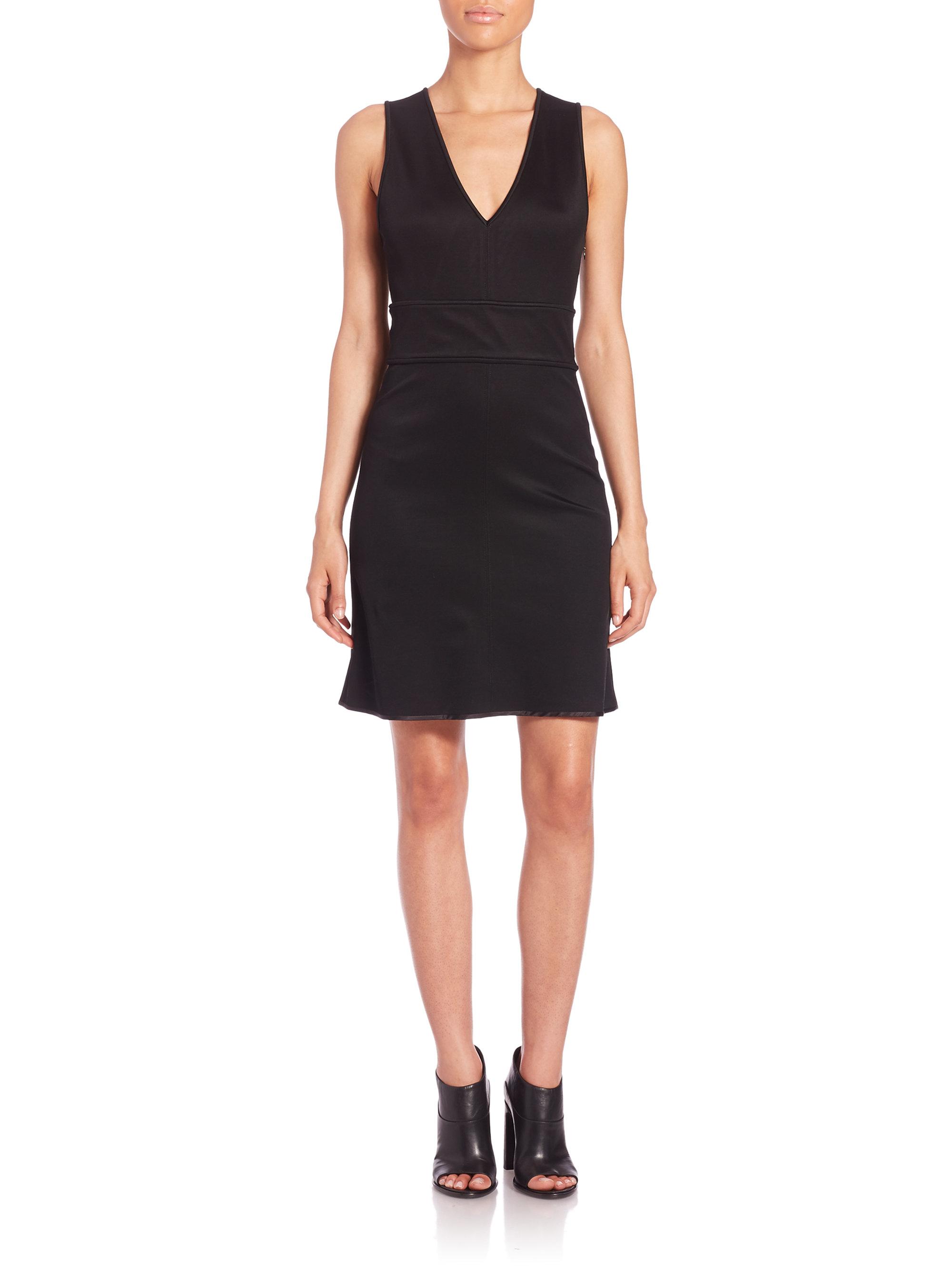 Lyst Rag Amp Bone Astrid Cutout Dress In Black
