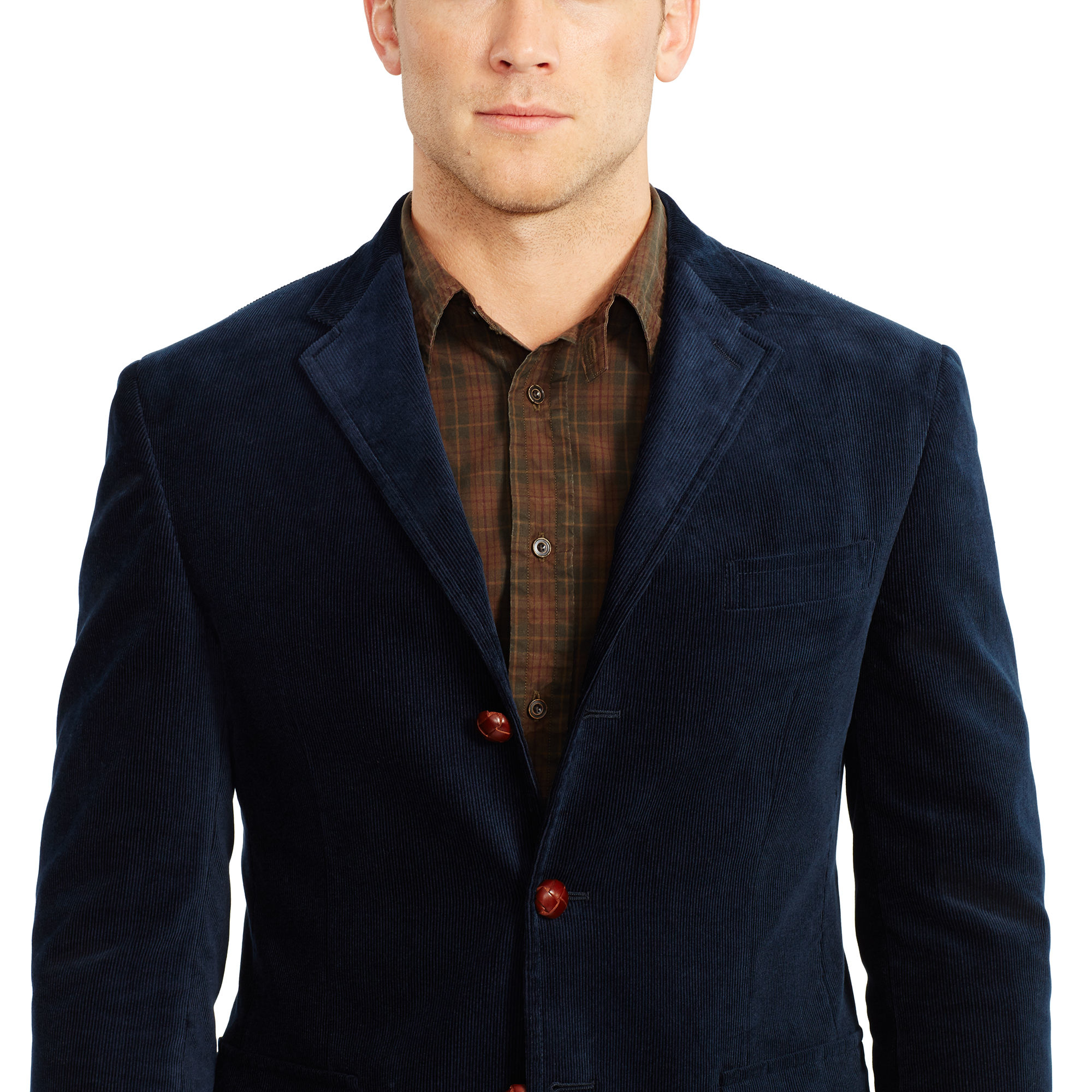 Polo ralph lauren Polo Corduroy Sport Coat in Blue for Men | Lyst
