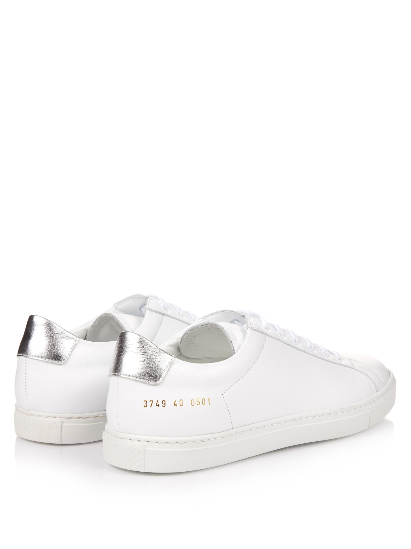 d70ba2b04d03f Common Projects Achilles Retro Leather Low-top Trainers in White - Lyst