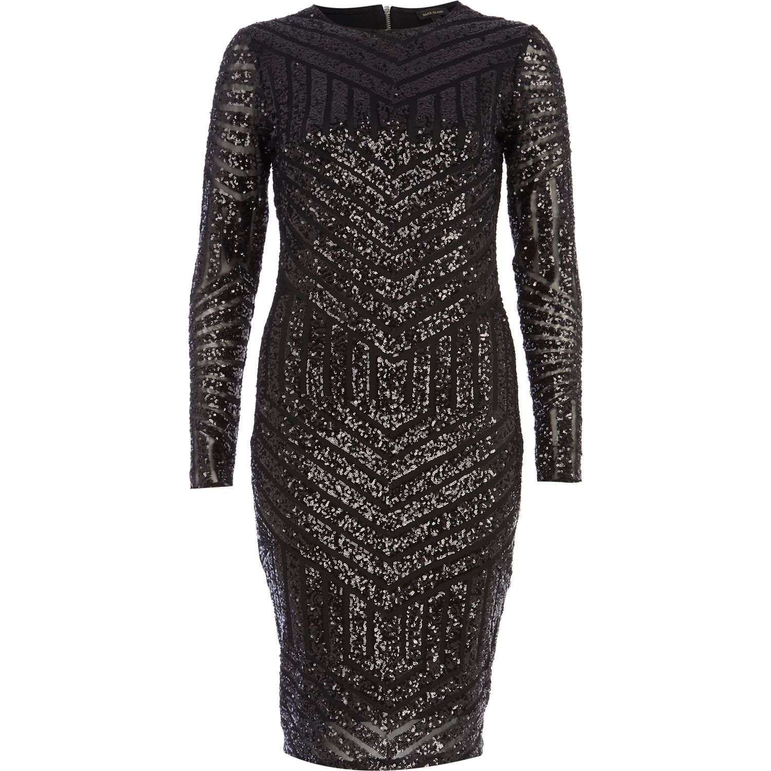 15eaf74079 black glitter dress river island – Little Black Dress | Black Lace ...