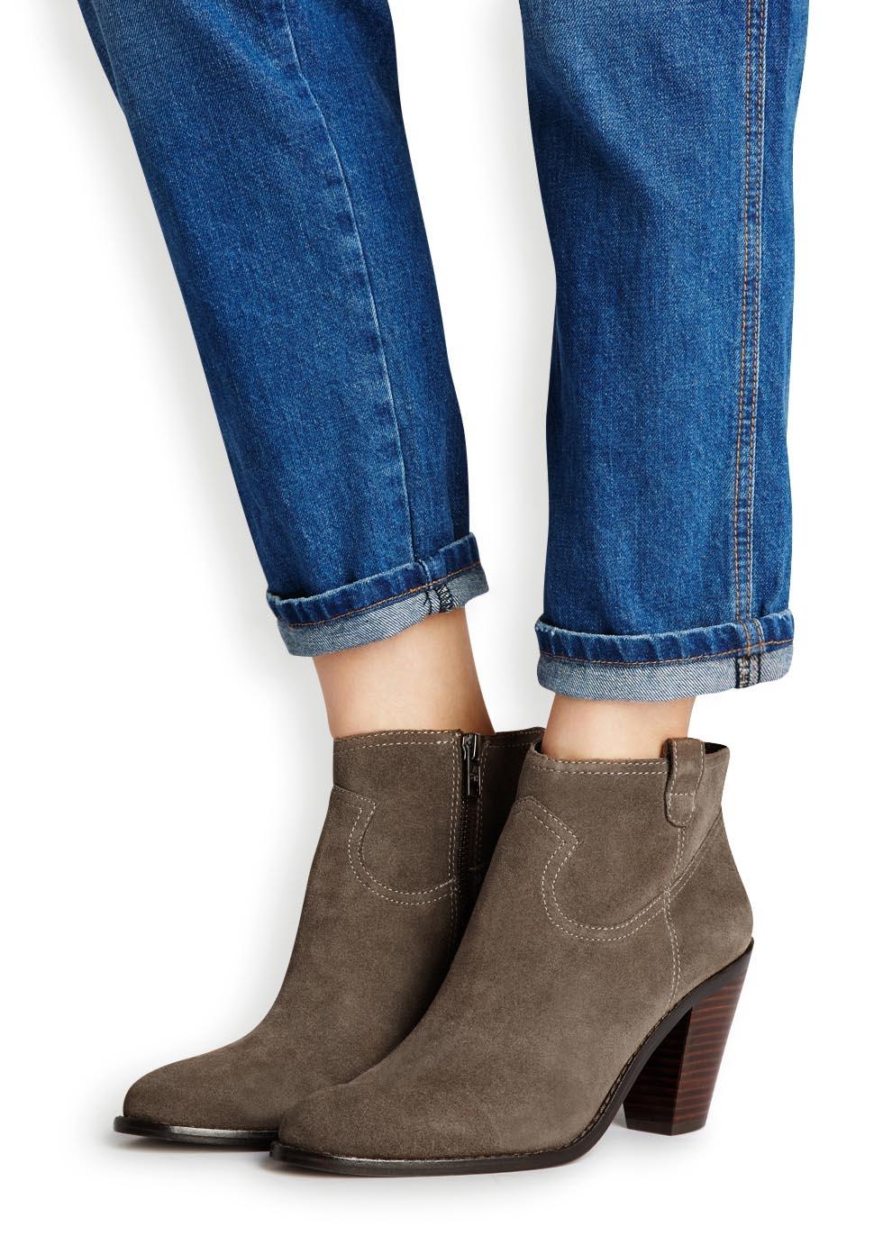 Ash Ivana Ankle Boots Color: Blue