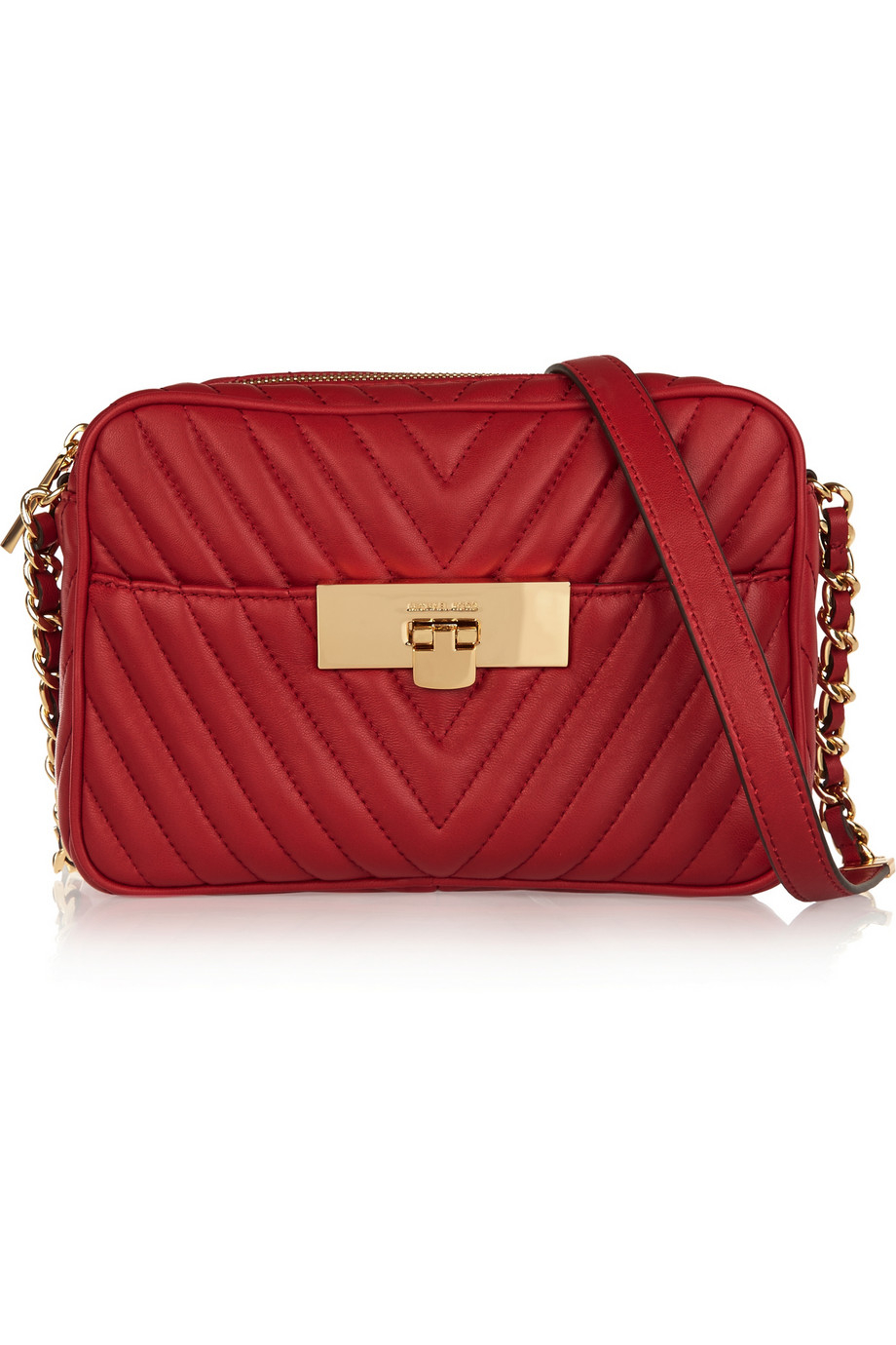 Michael michael kors Susannah Small Quilted Leather Shoulder Bag ...