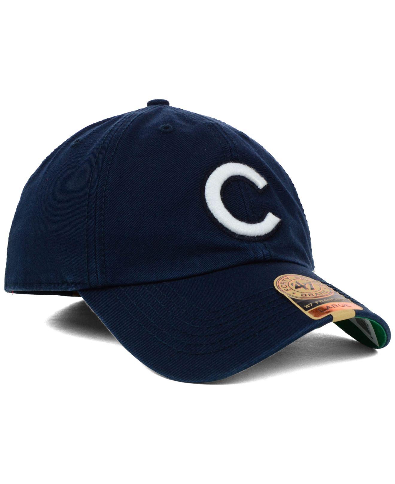 6df1a832b25 Lyst - 47 Brand Chicago Cubs Mlb Harbor Franchise Cap in Blue for Men