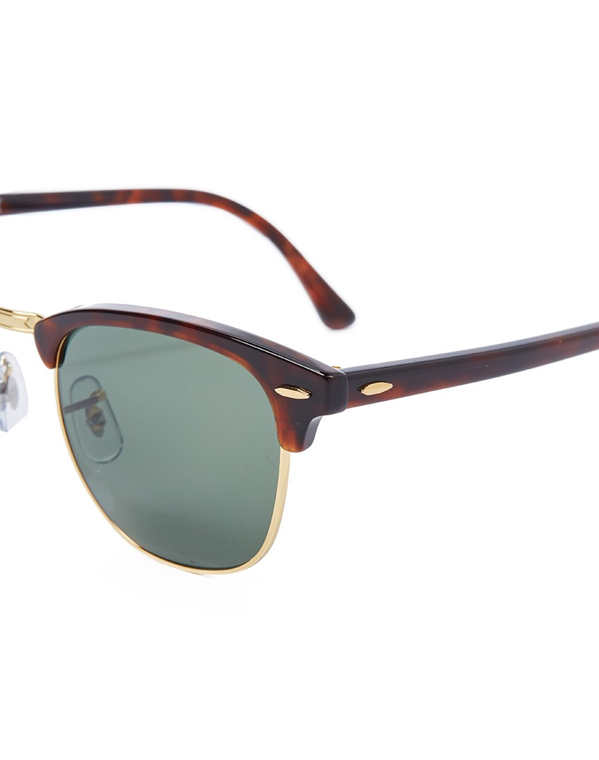 ray ban iconic clubmaster sunglasses  gallery. men's ray ban clubmaster