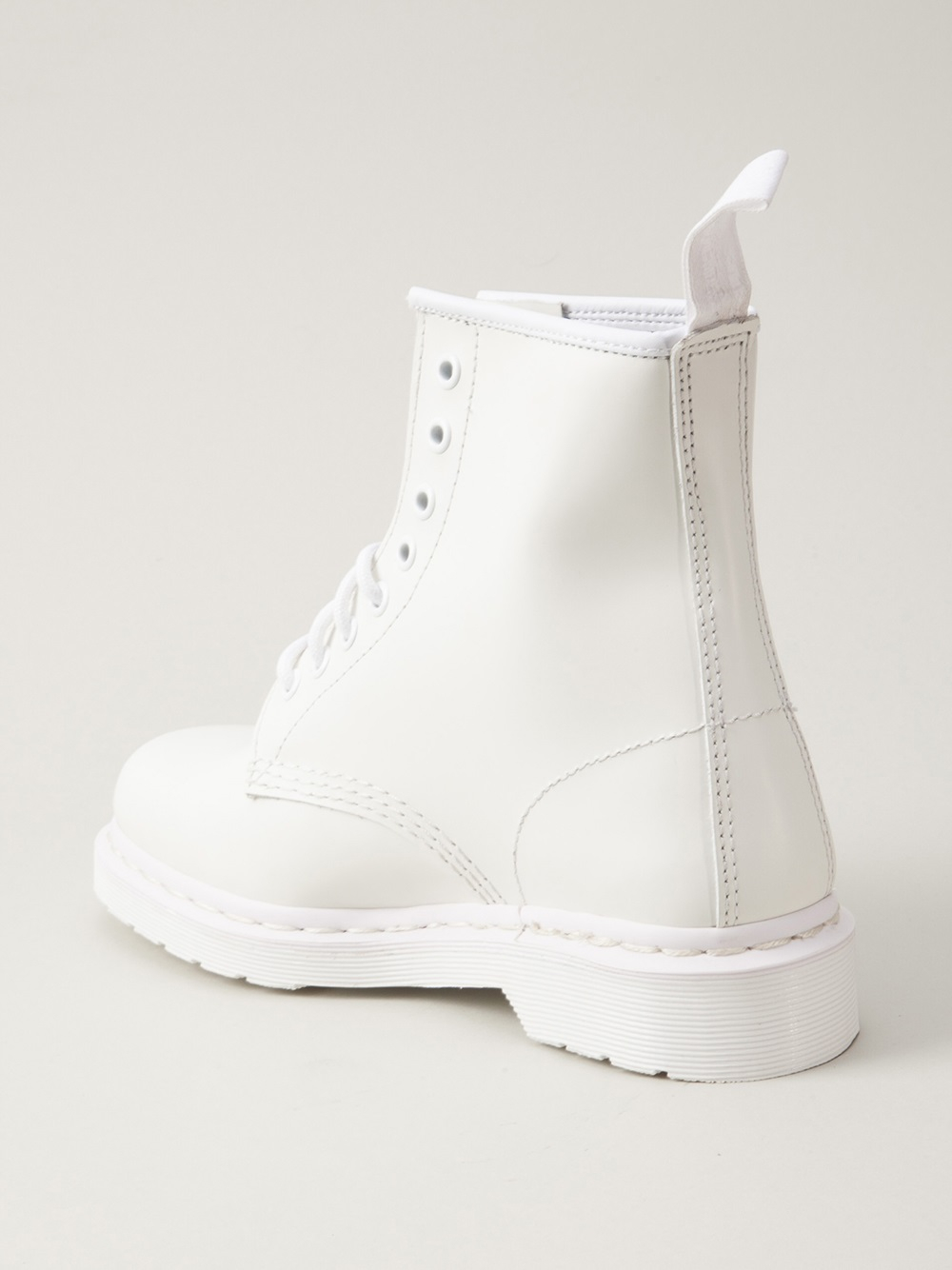 Lyst Dr Martens Mono 8eye Boot In White