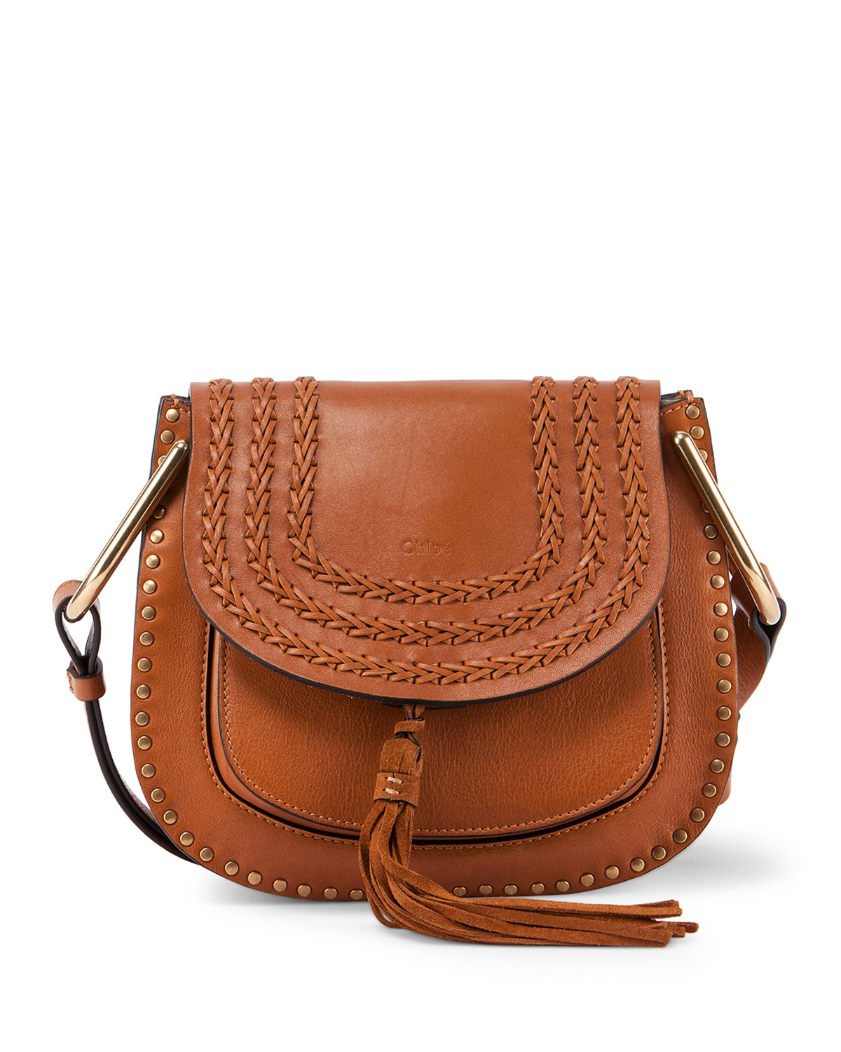 Chlo�� Hudson Medium Shoulder Bag in Brown (caramel) | Lyst