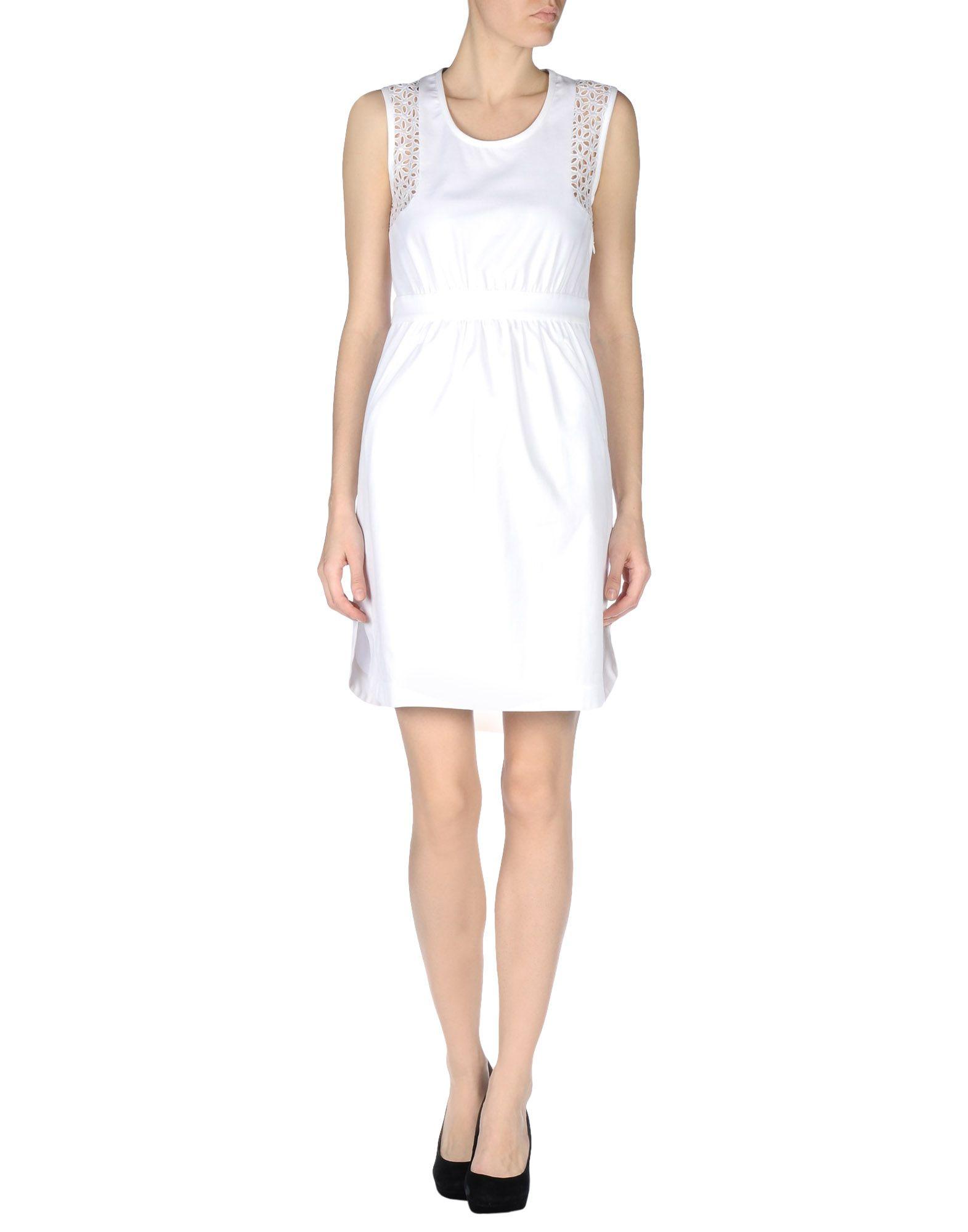 Short sleeved floral dress Caractere nZ6ol5BQ9