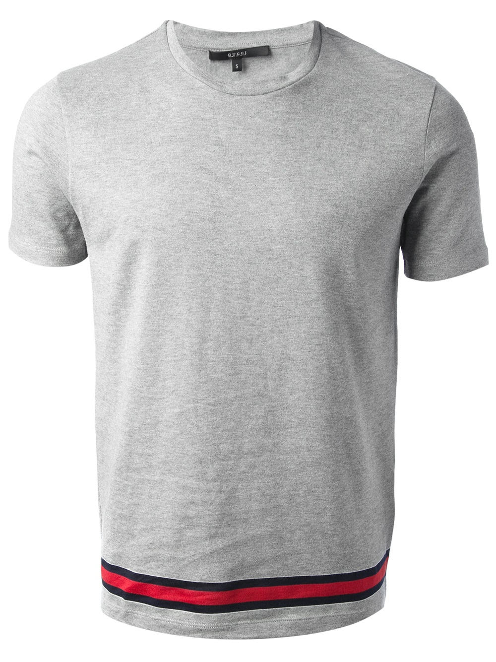 f375a784 Gucci Classic Tshirt in Gray for Men - Lyst