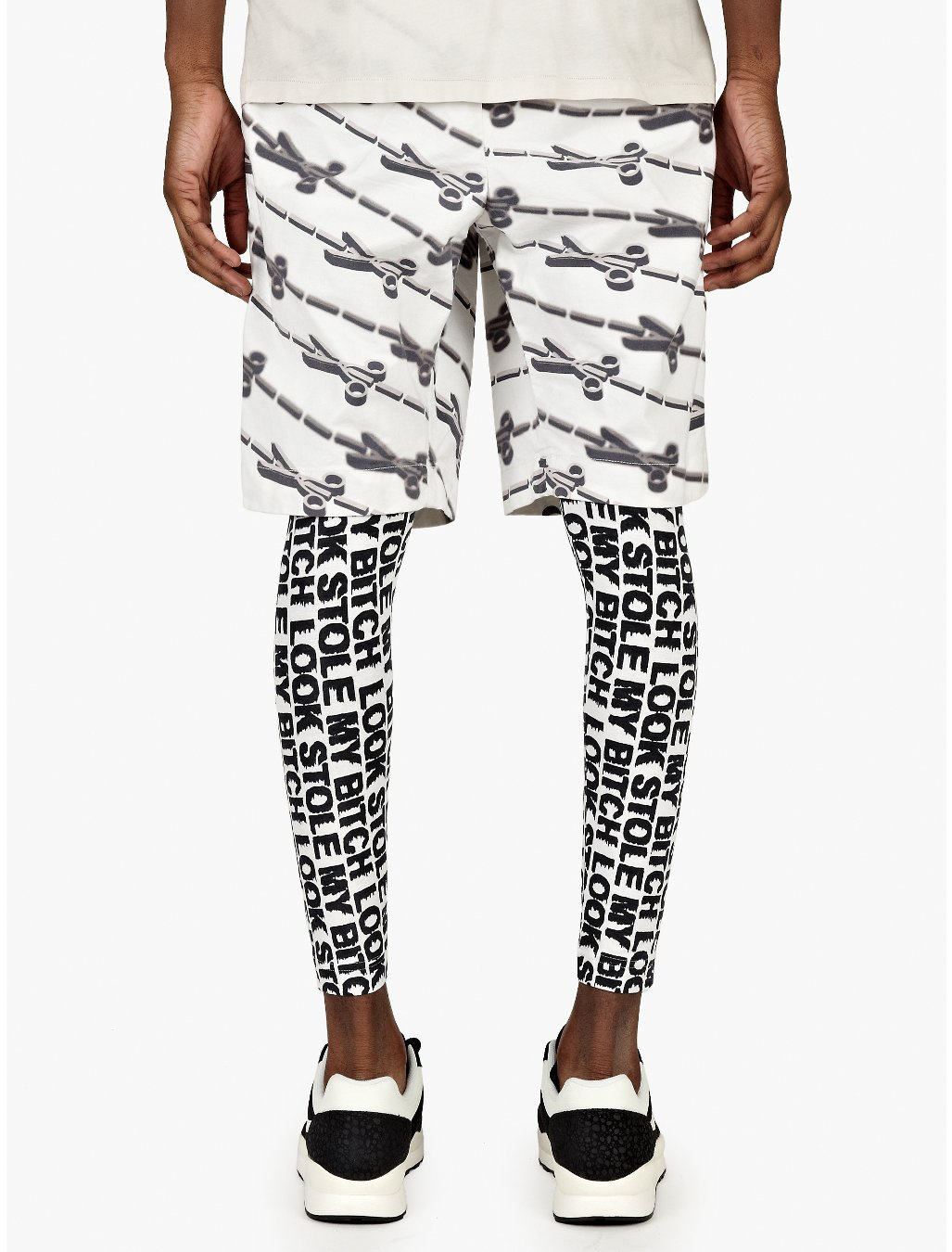 Mens Printed Leggings