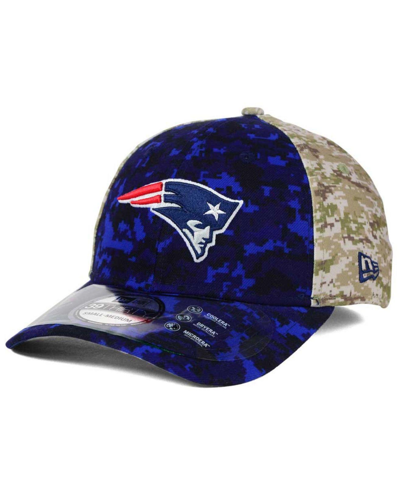 e9de7d24b6faf8 KTZ New England Patriots Salute To Service 39thirty Cap - Lyst