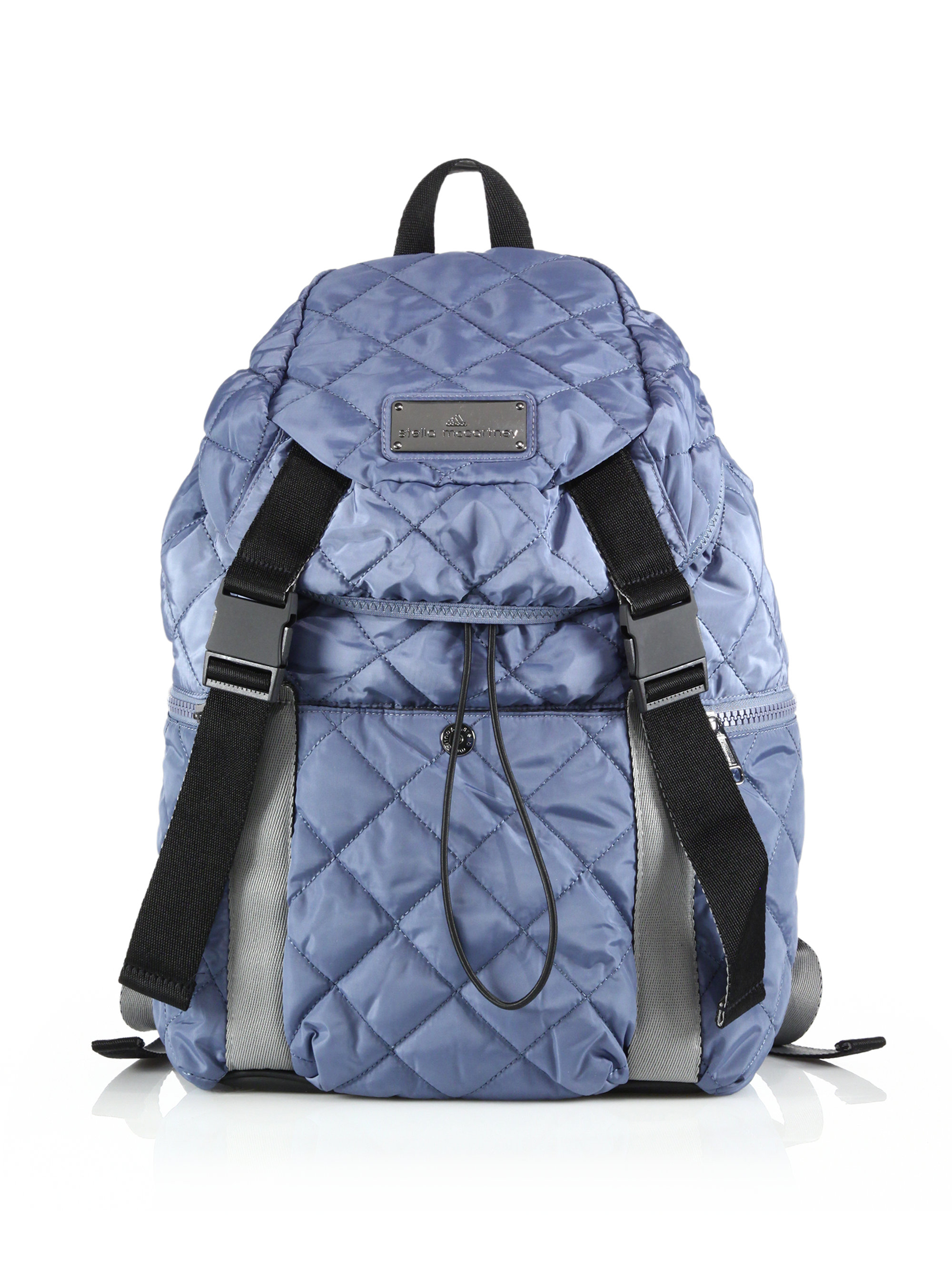 7c59563ace59 Lyst - adidas By Stella McCartney Quilted Weekender Backpack in Blue